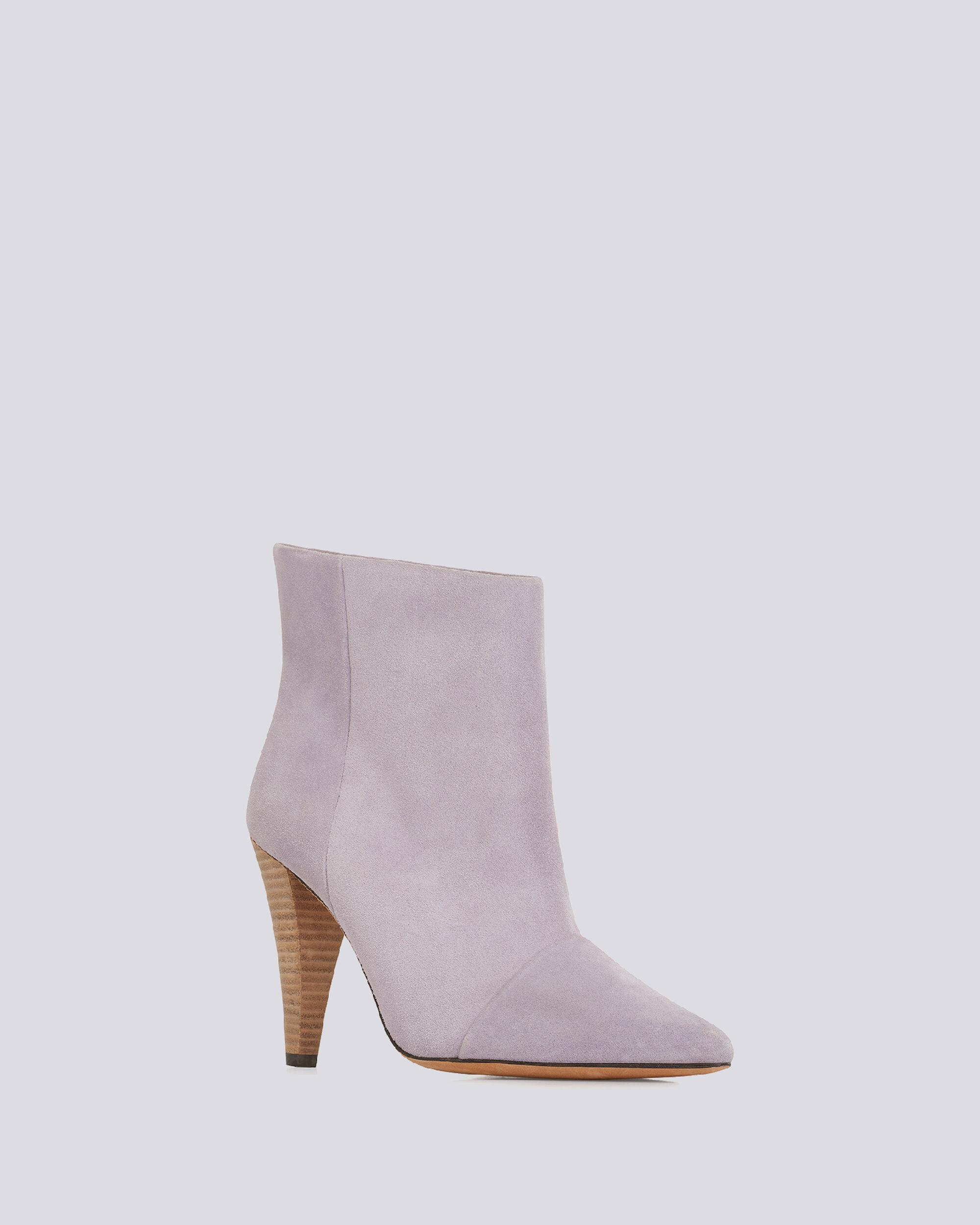 IMANOL POINTED TOE ANKLE SUEDE BOOTS 1