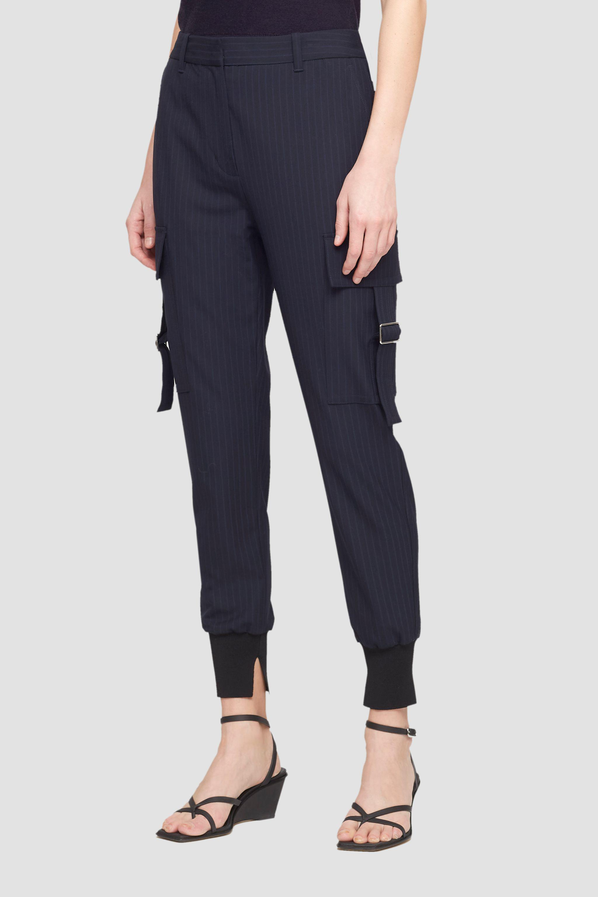 Tapered Pinstripe Jogger 2