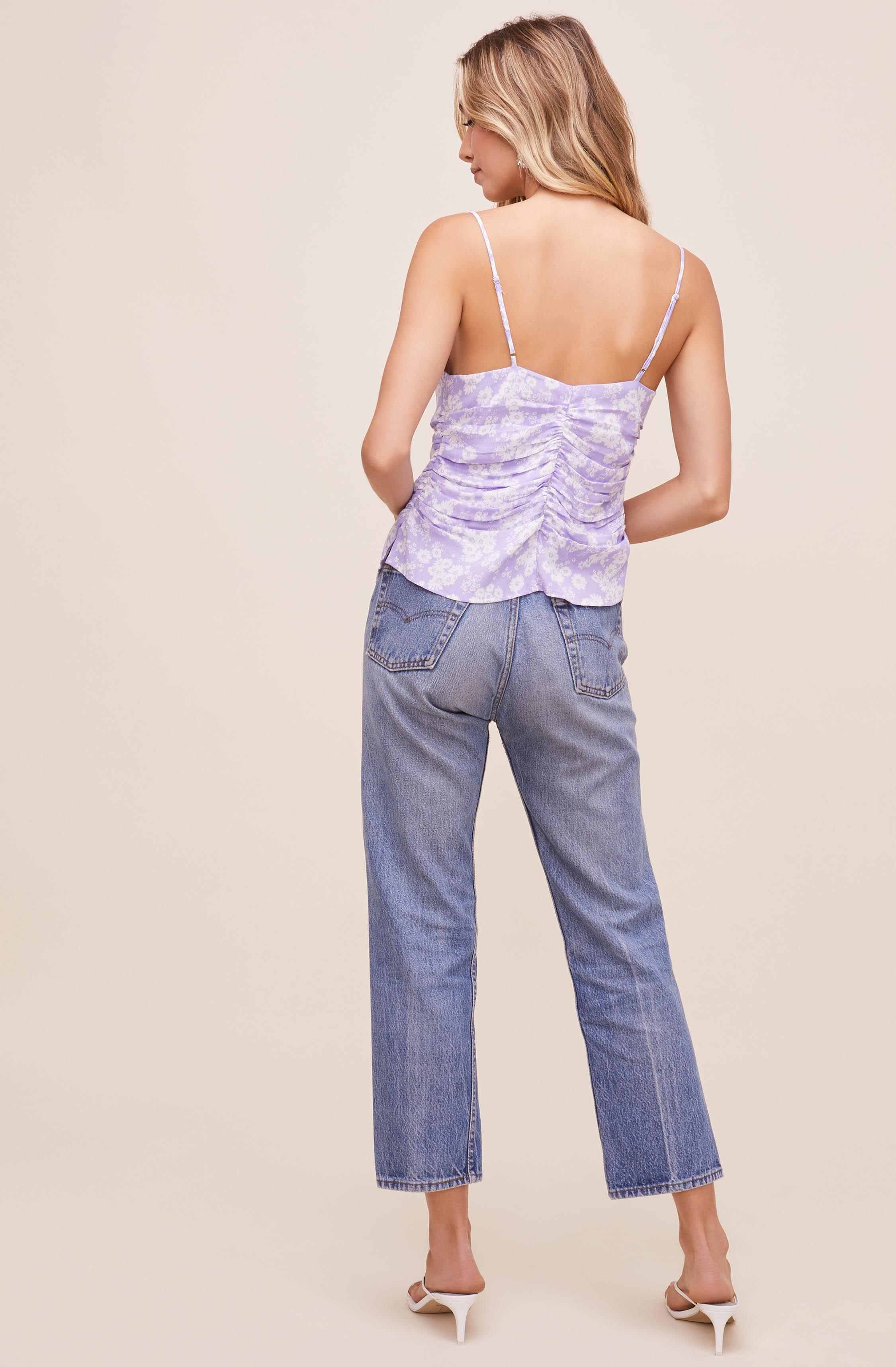 Ruched Floral Cami 5