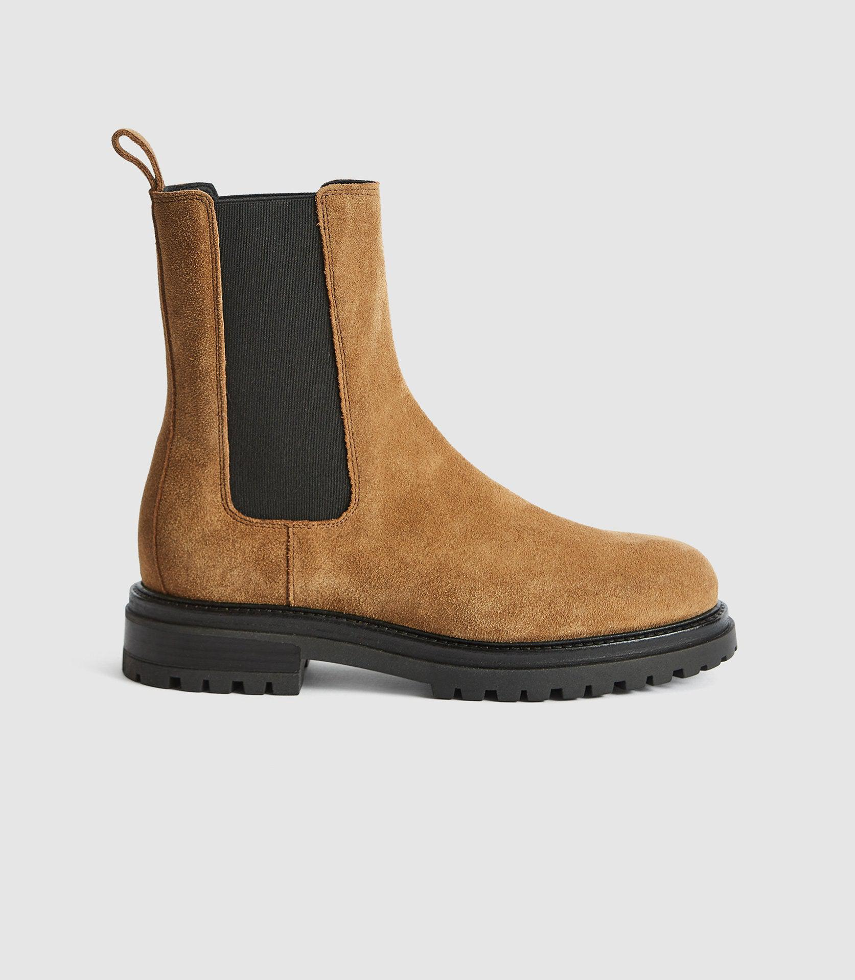 THEA - SUEDE CHELSEA BOOTS