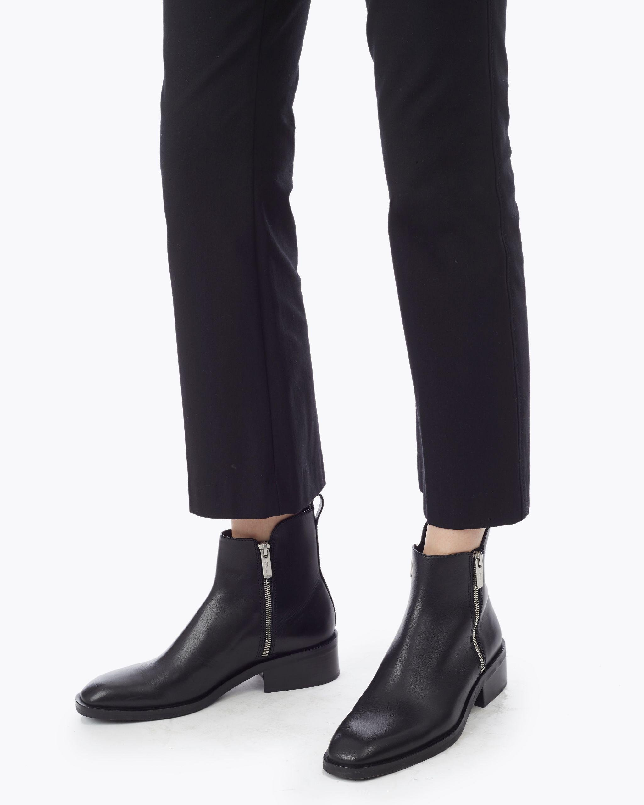 Cropped Flared Trouser 3