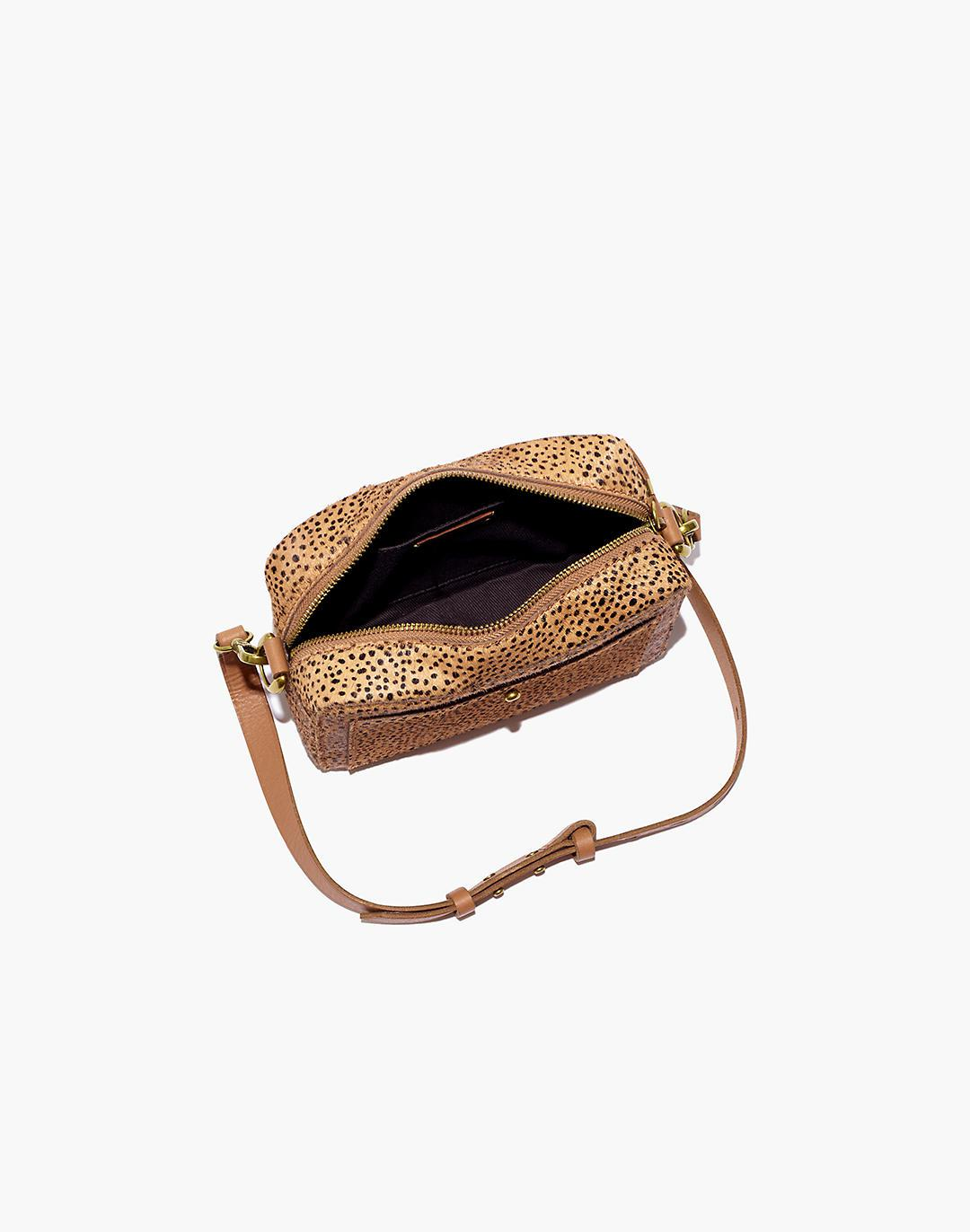The Transport Camera Bag in Dotted Calf Hair 1