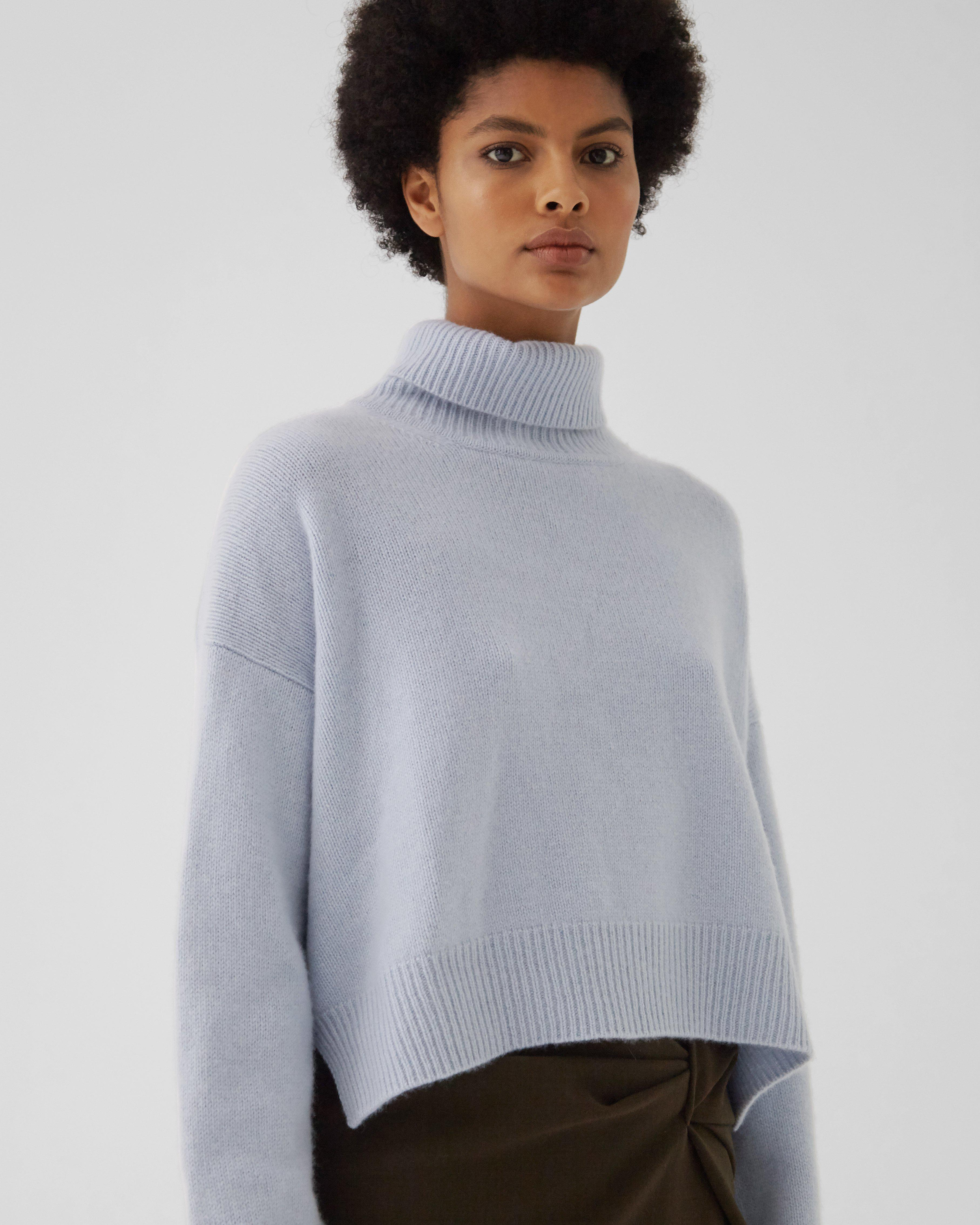 Lyn Sweater Regenerated Cashmere Blue 2