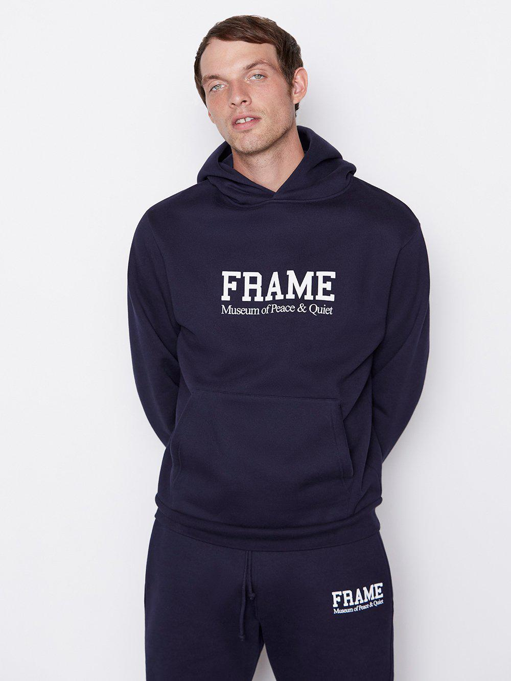 Museum of Peace and Quiet Hoodie -- Navy