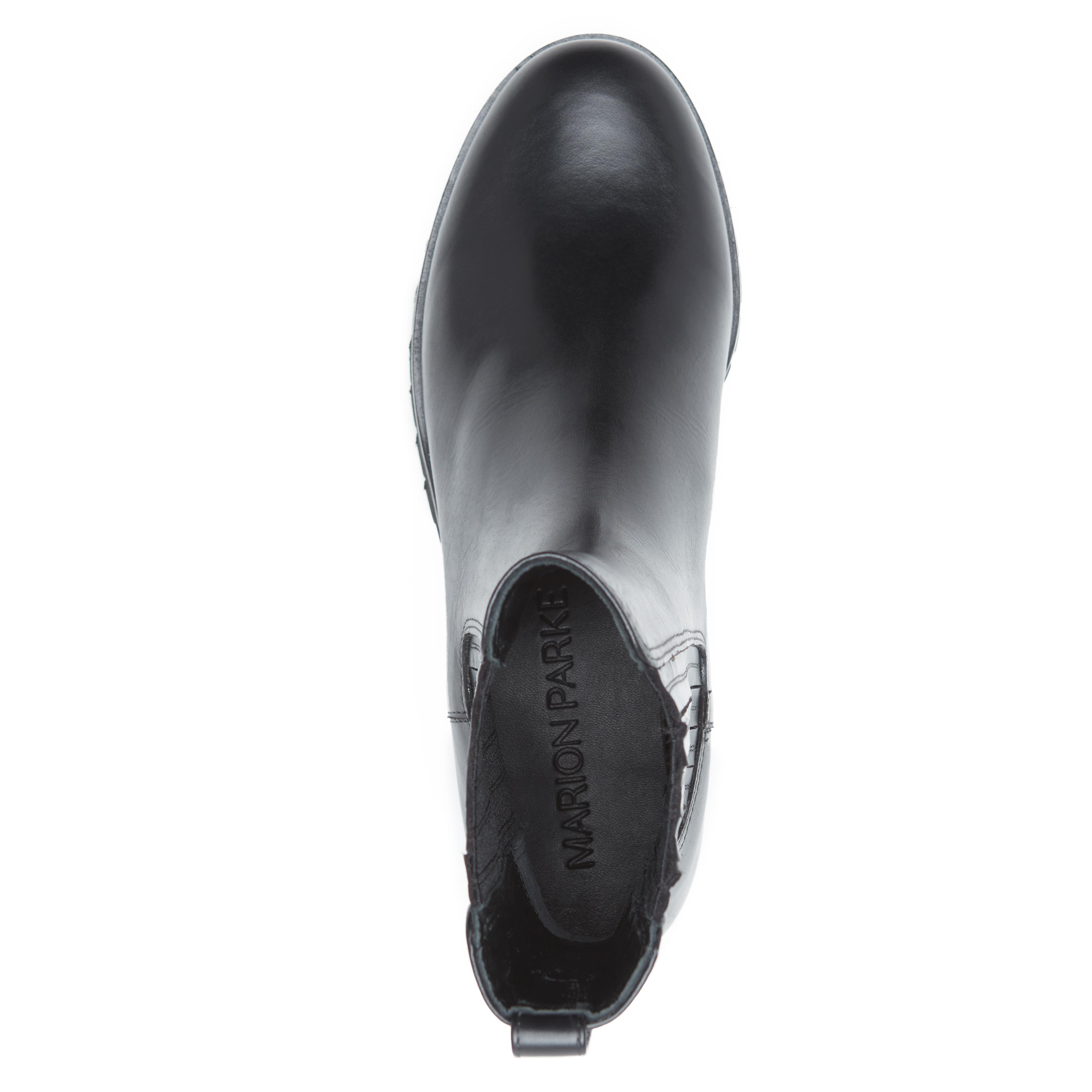 Chelsea Utility   Leather Flat Lug Sole Bootie 2