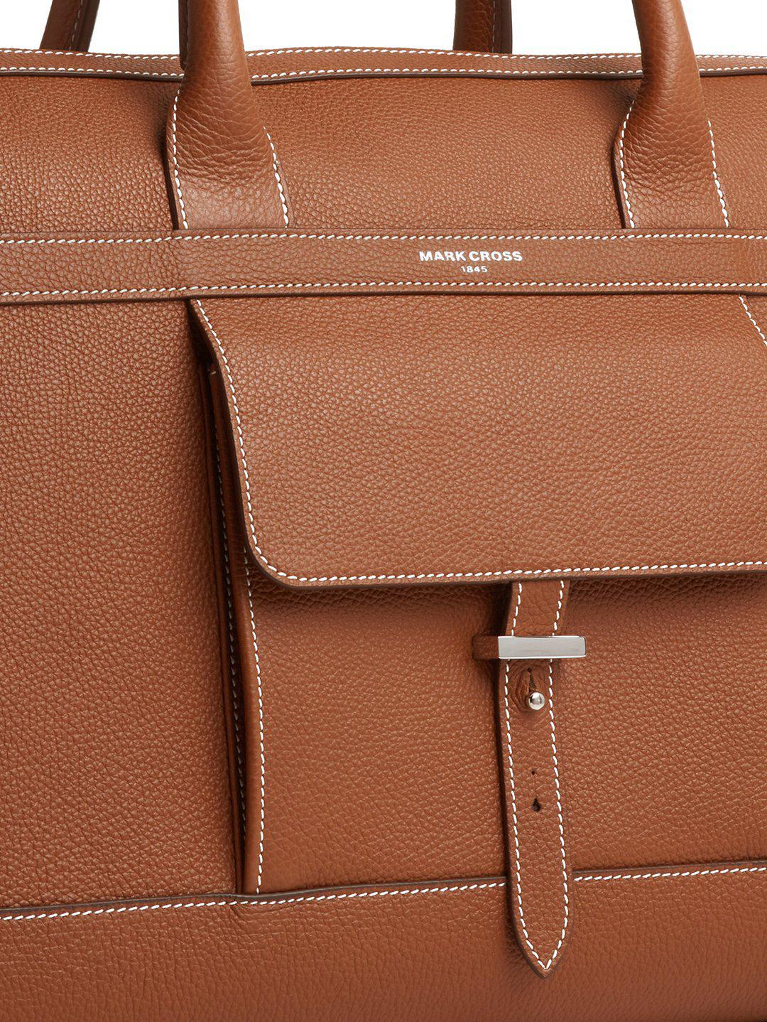 Mick Holdall Leather Duffle Bag 1