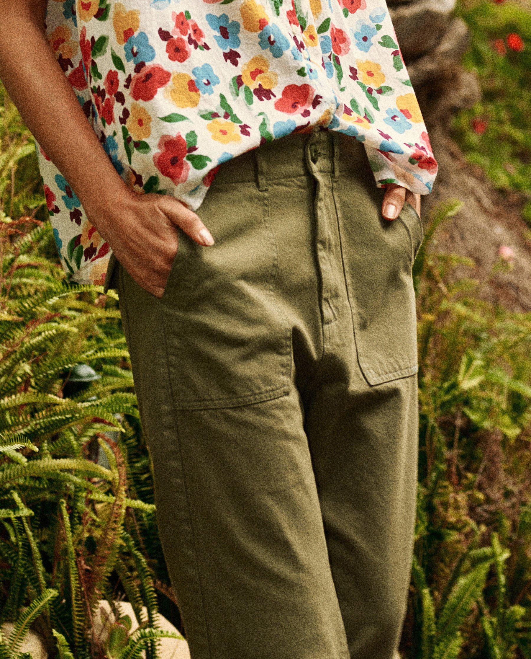The Frayed Ranger Pant. -- Army 3
