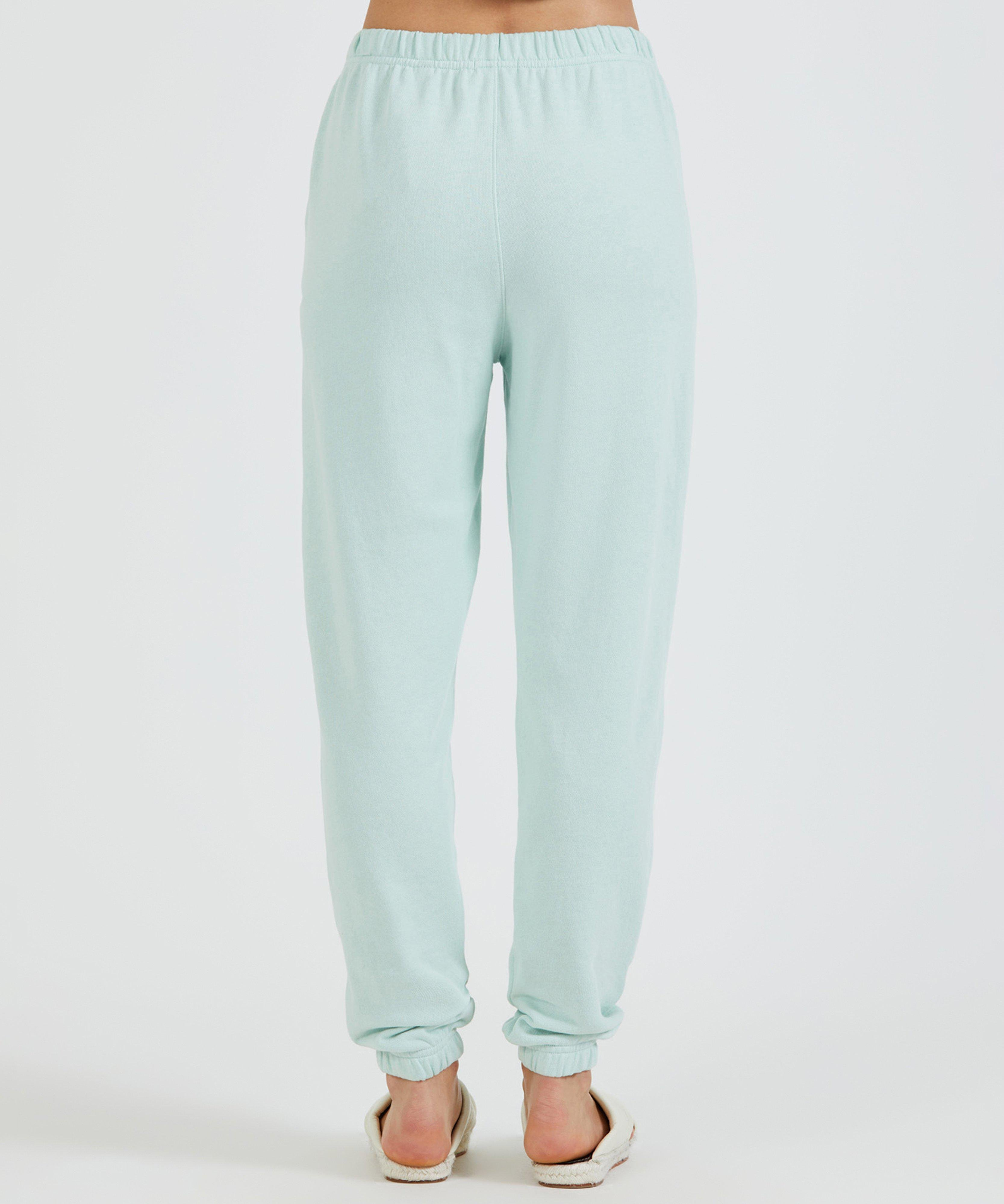 French Terry Pull-On Pant - Mint 2
