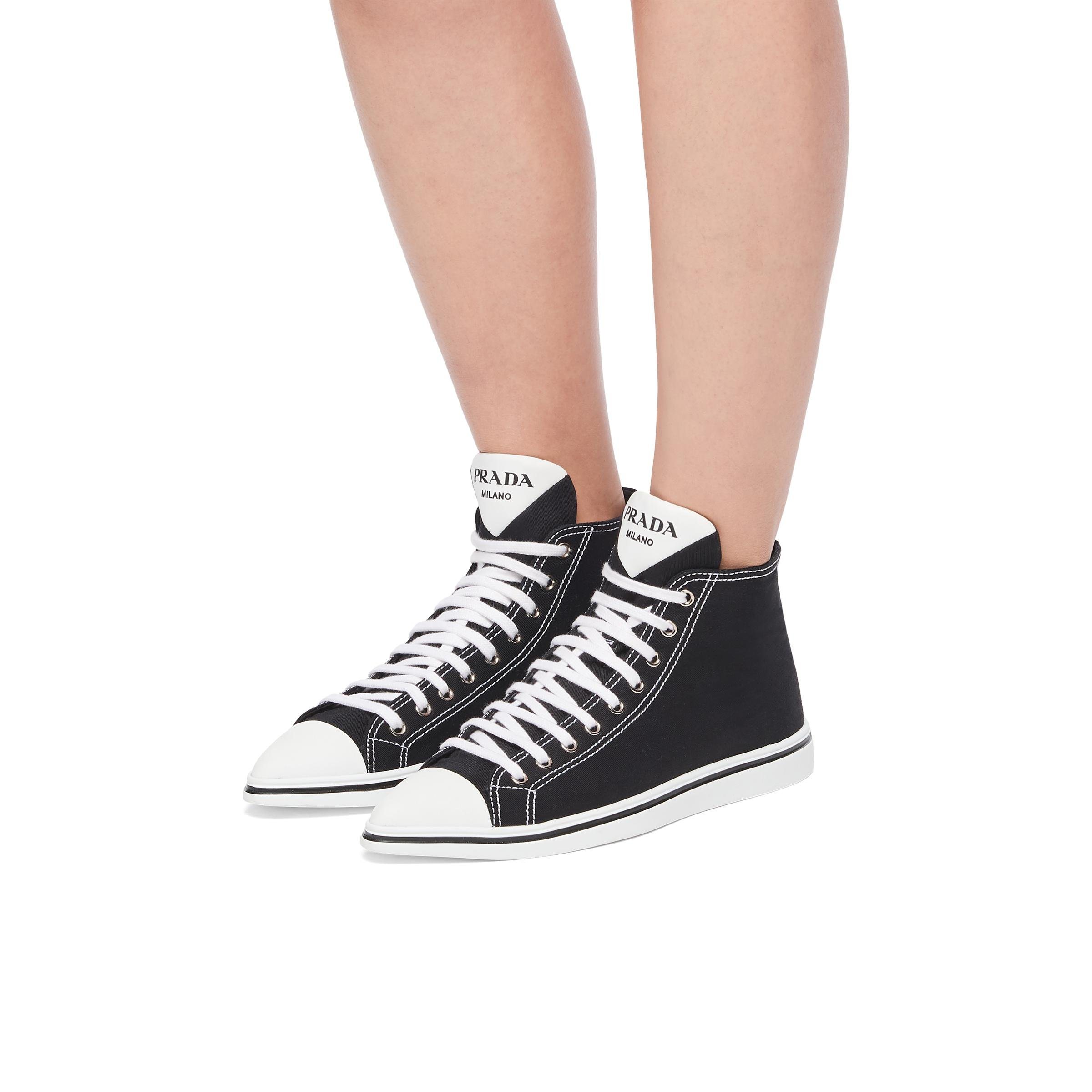 Synthesis High-top Sneakers Women Black 4