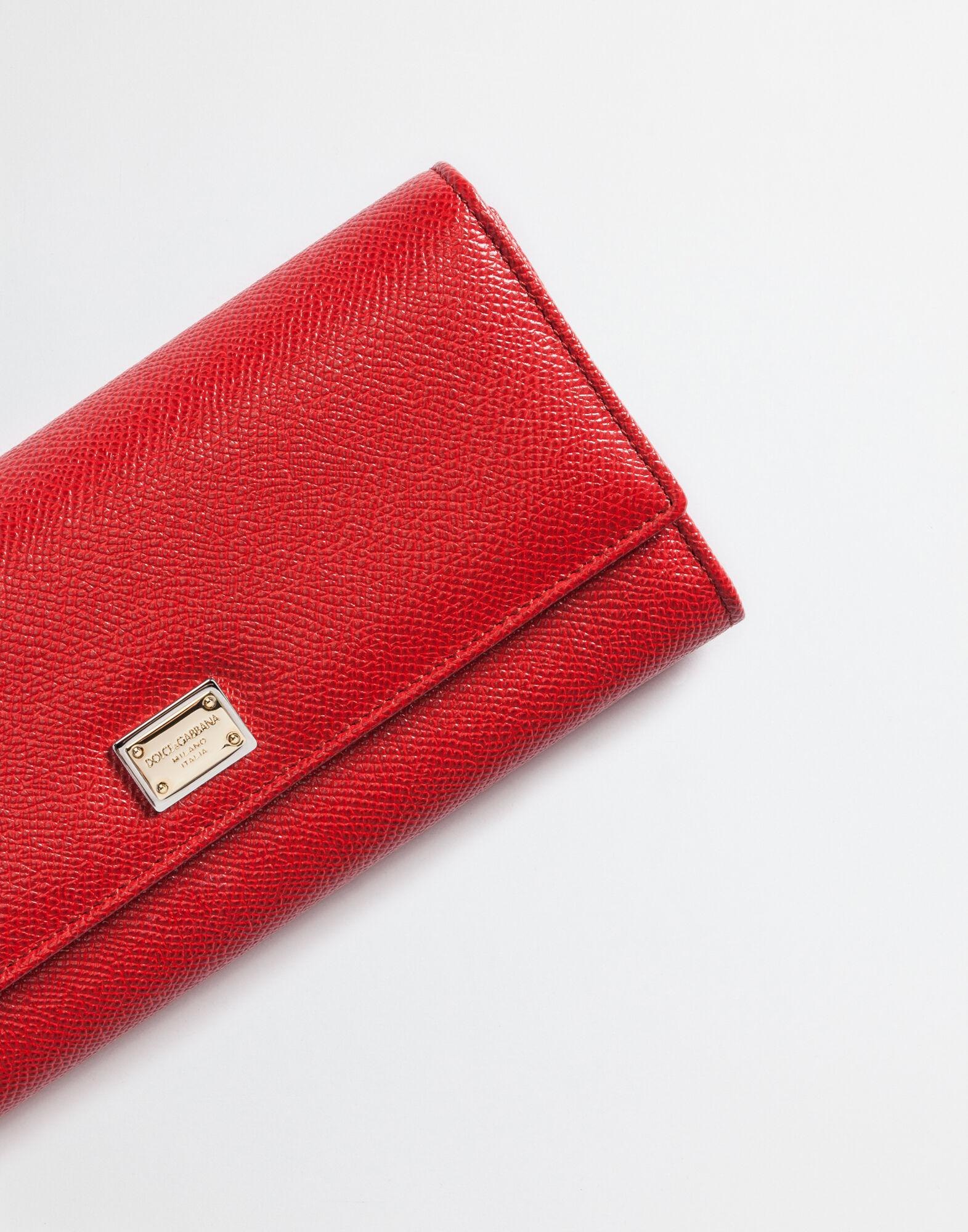 Continental wallet in dauphine leather 4