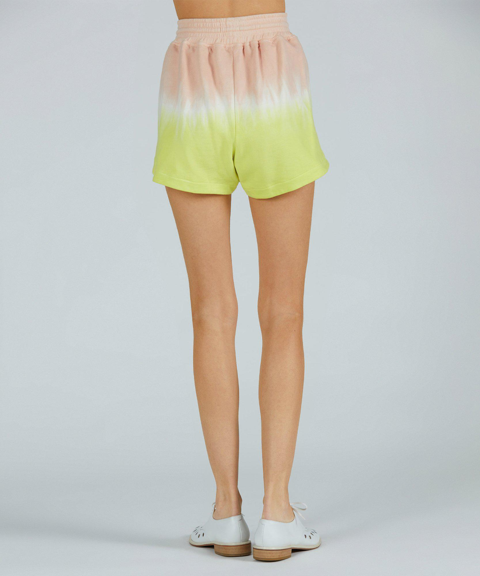 French Terry Pull-On Short - Shell Combo Dip Dye 2