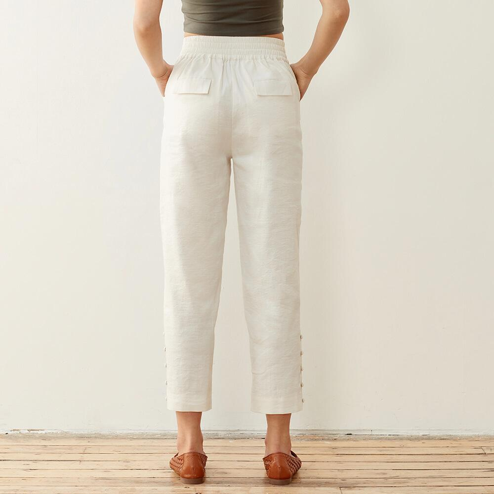 Plant And Chill Linen Pants 4