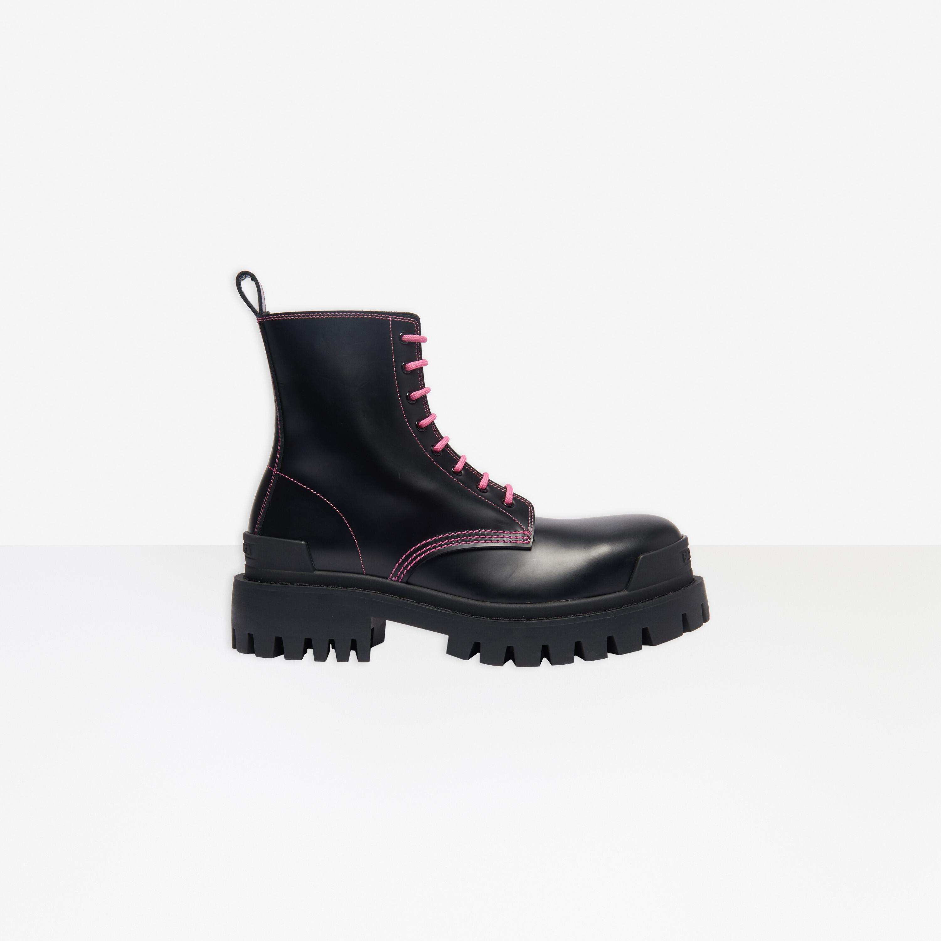 Strike 20mm Lace-up Boot