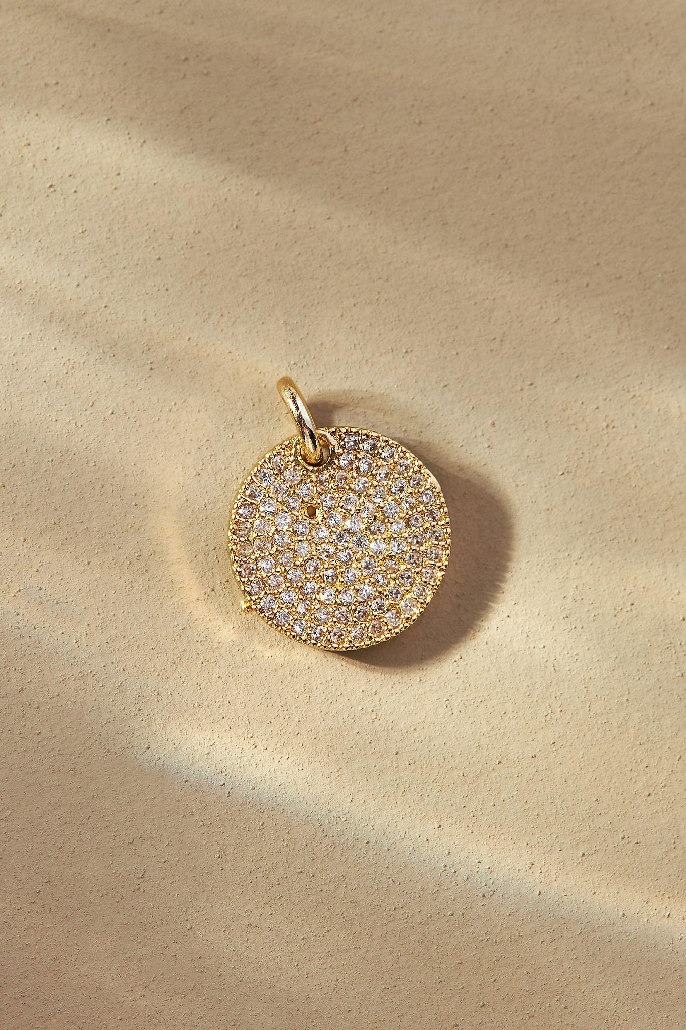 Embellished Coin Charm