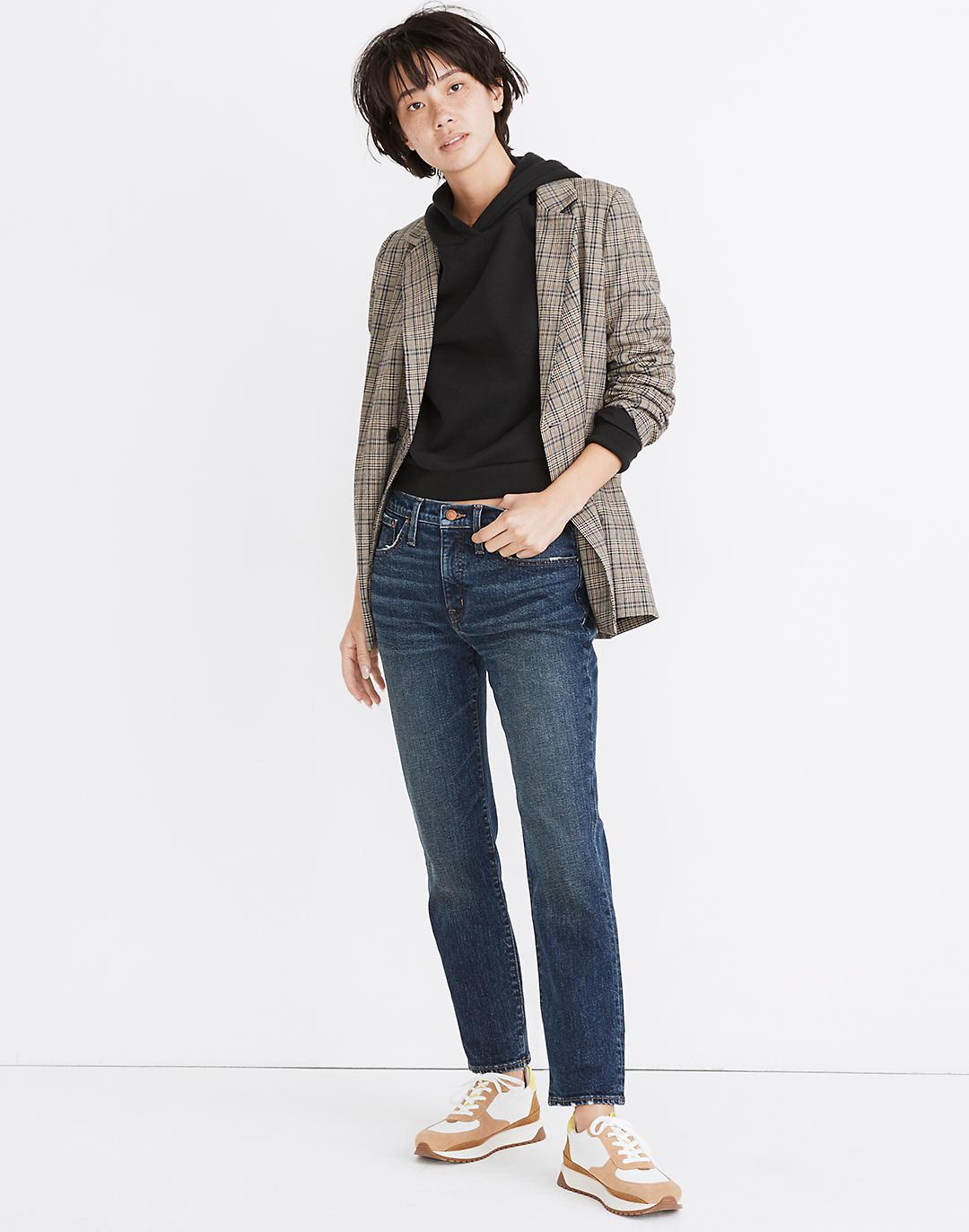 Tomboy Straight Jeans in Chaseley Wash