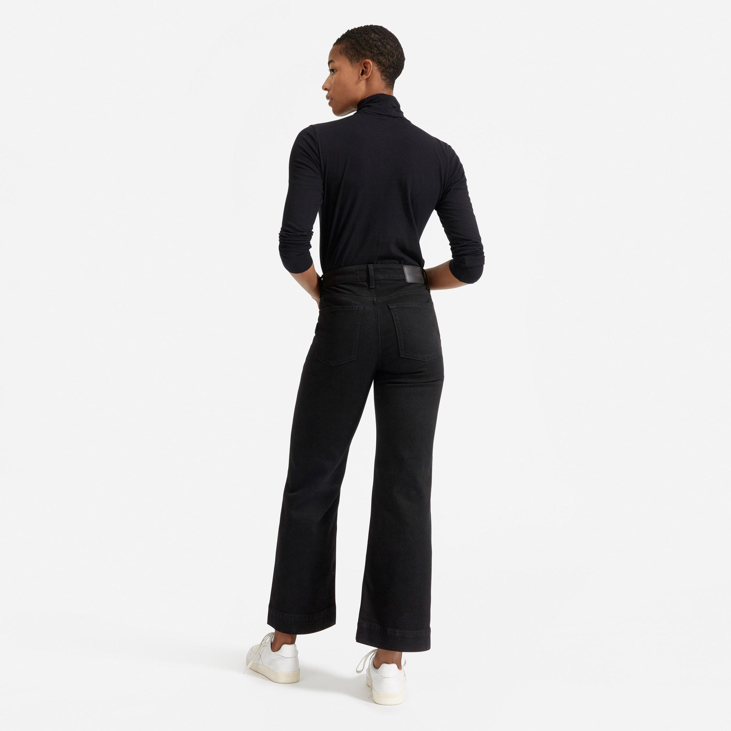The Button-Fly Wide-Leg Jean 3