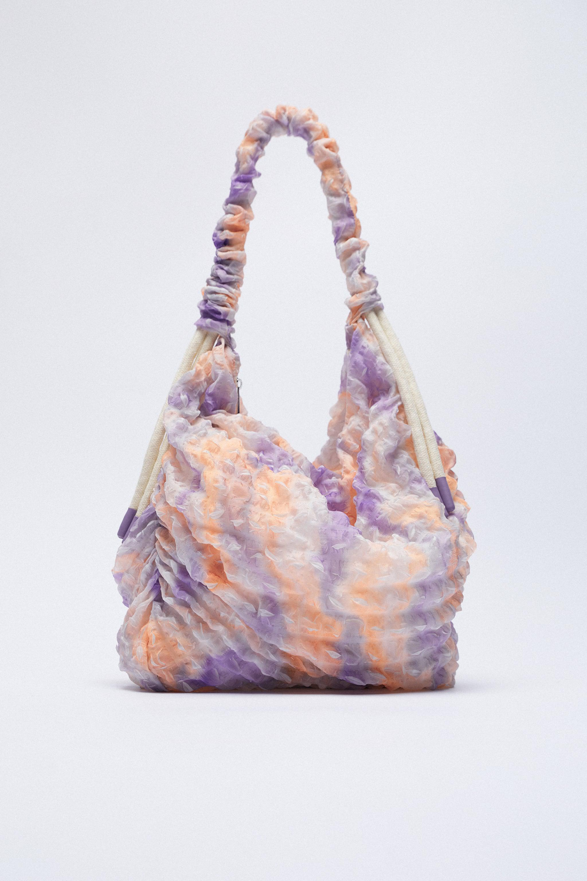 FABRIC BUCKET BAG WITH STRAP 1
