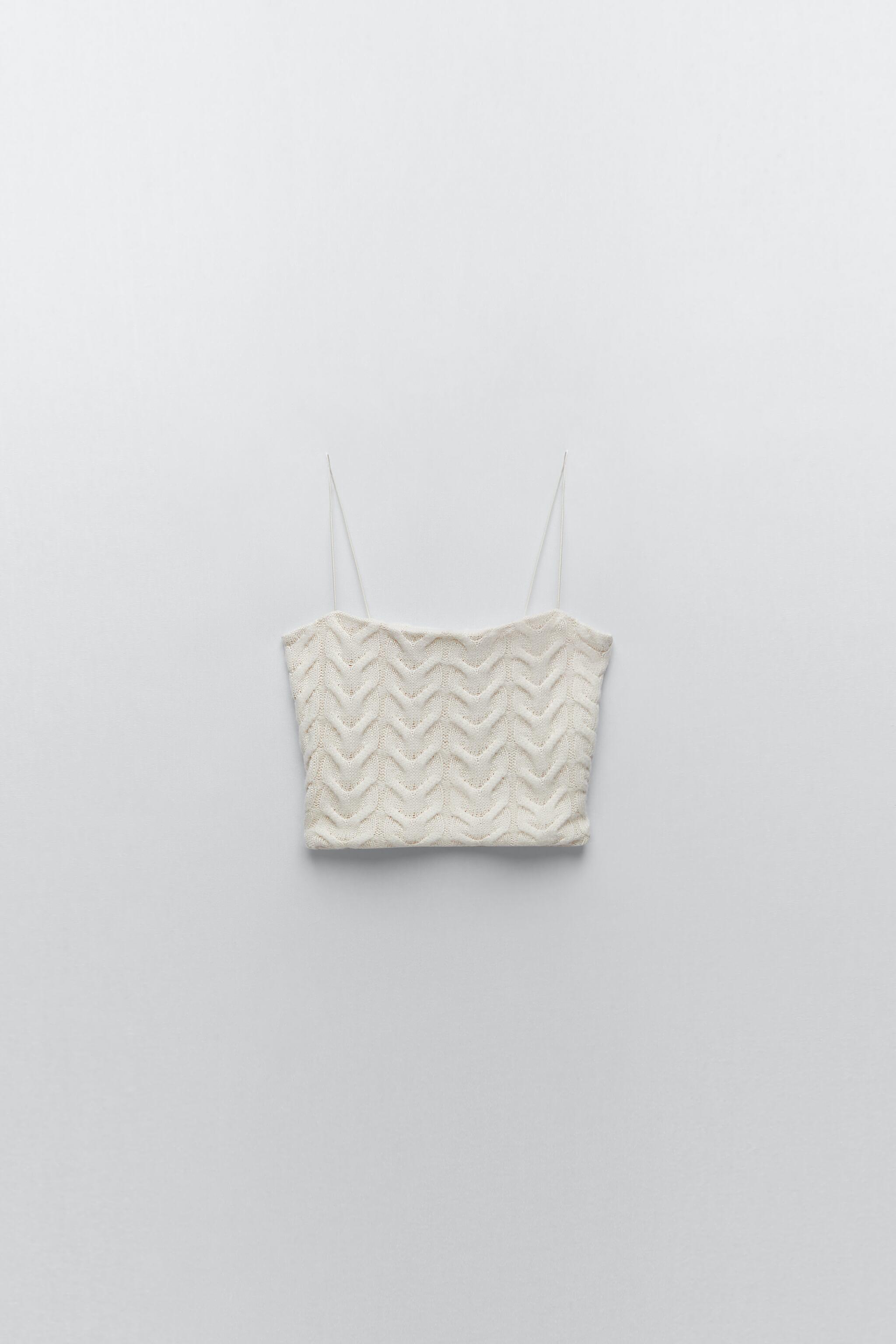 CABLE-KNIT CROP TOP 3