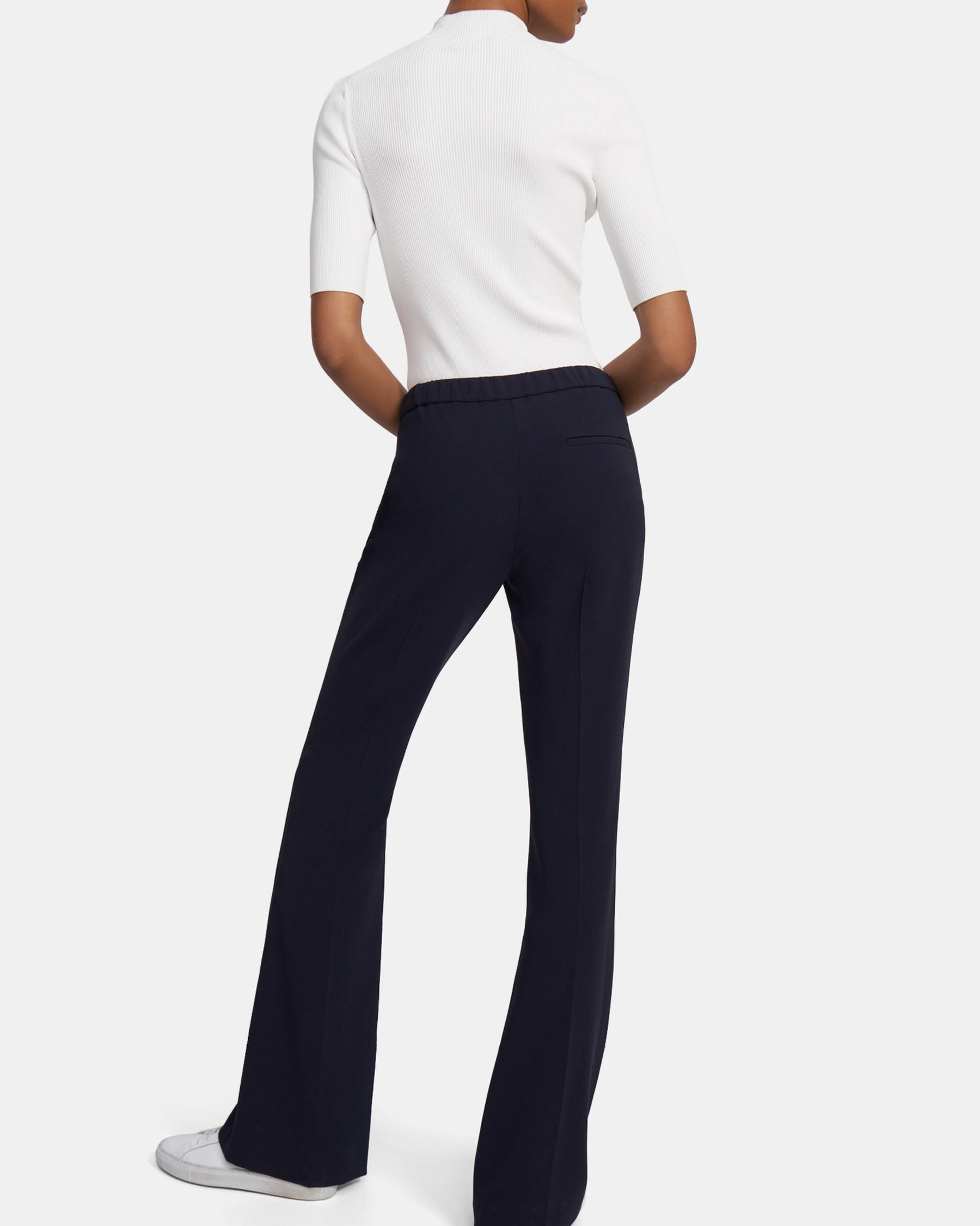 Demitria Pull-On Pant in Crepe 6
