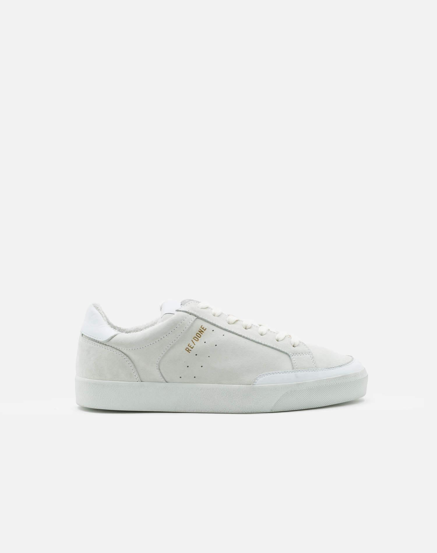 90s Skate Shoe - White Suede