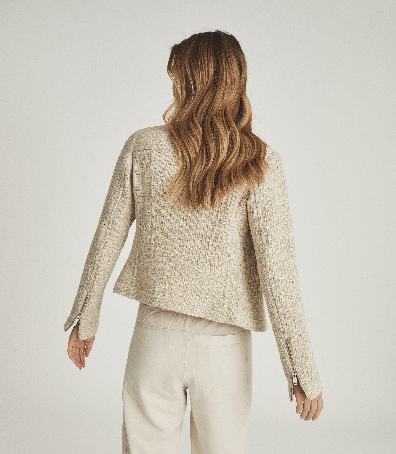 ESSIE - CROPPED BOUCLE JACKET 3
