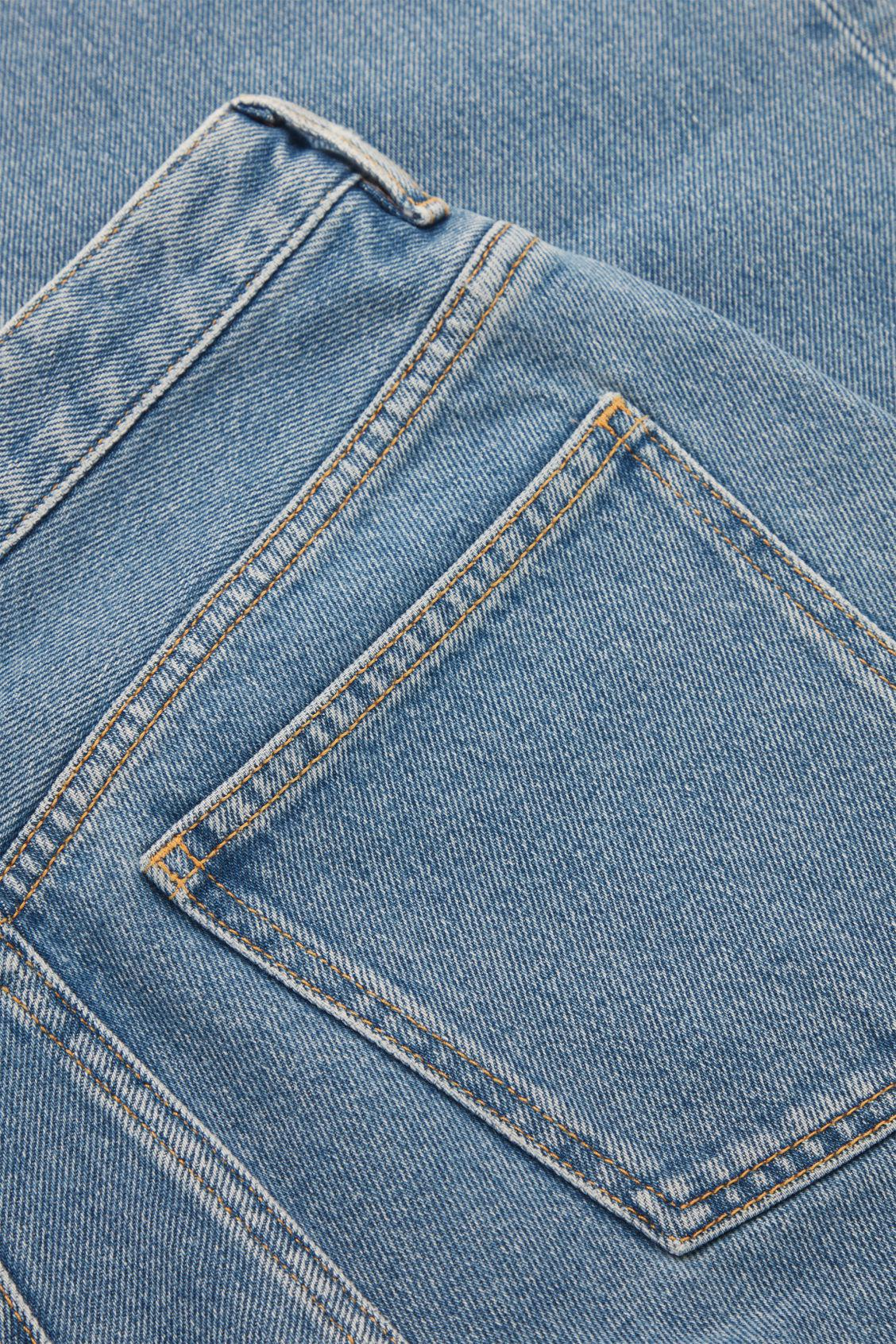 TAPERED HIGH-RISE JEANS 8