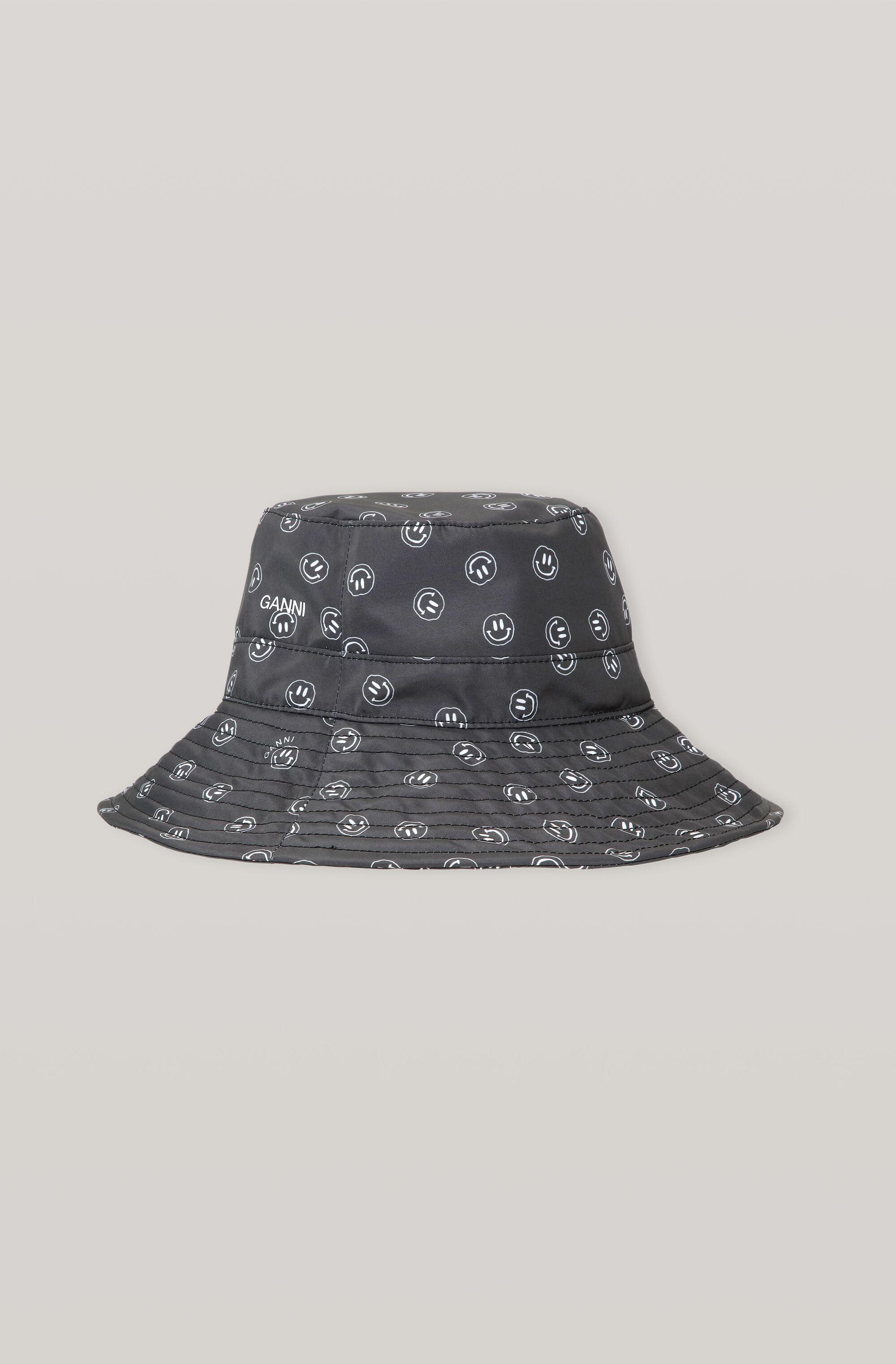 Recycled Tech Fabric Smiley Bucket Hat