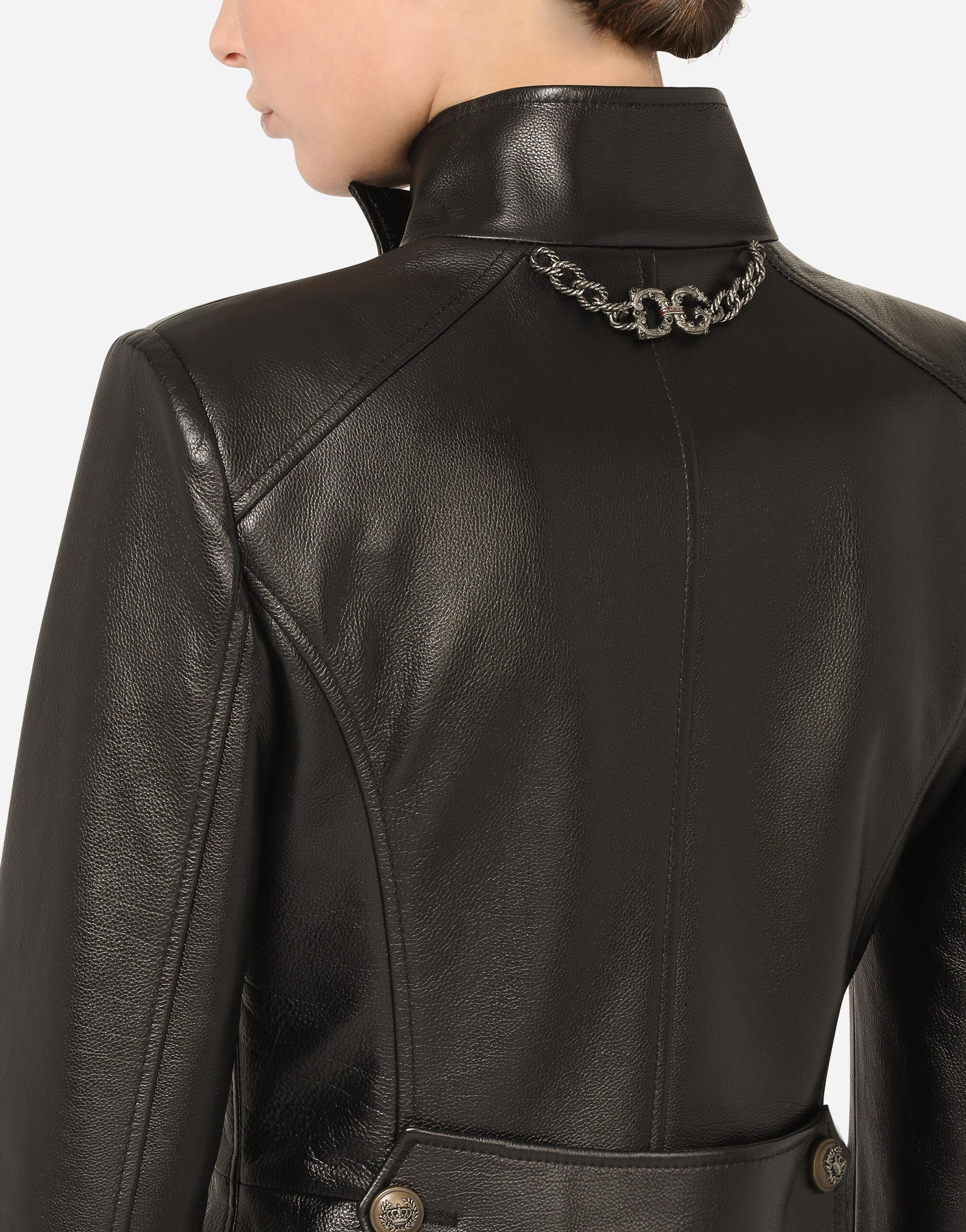 Leather peacot 6