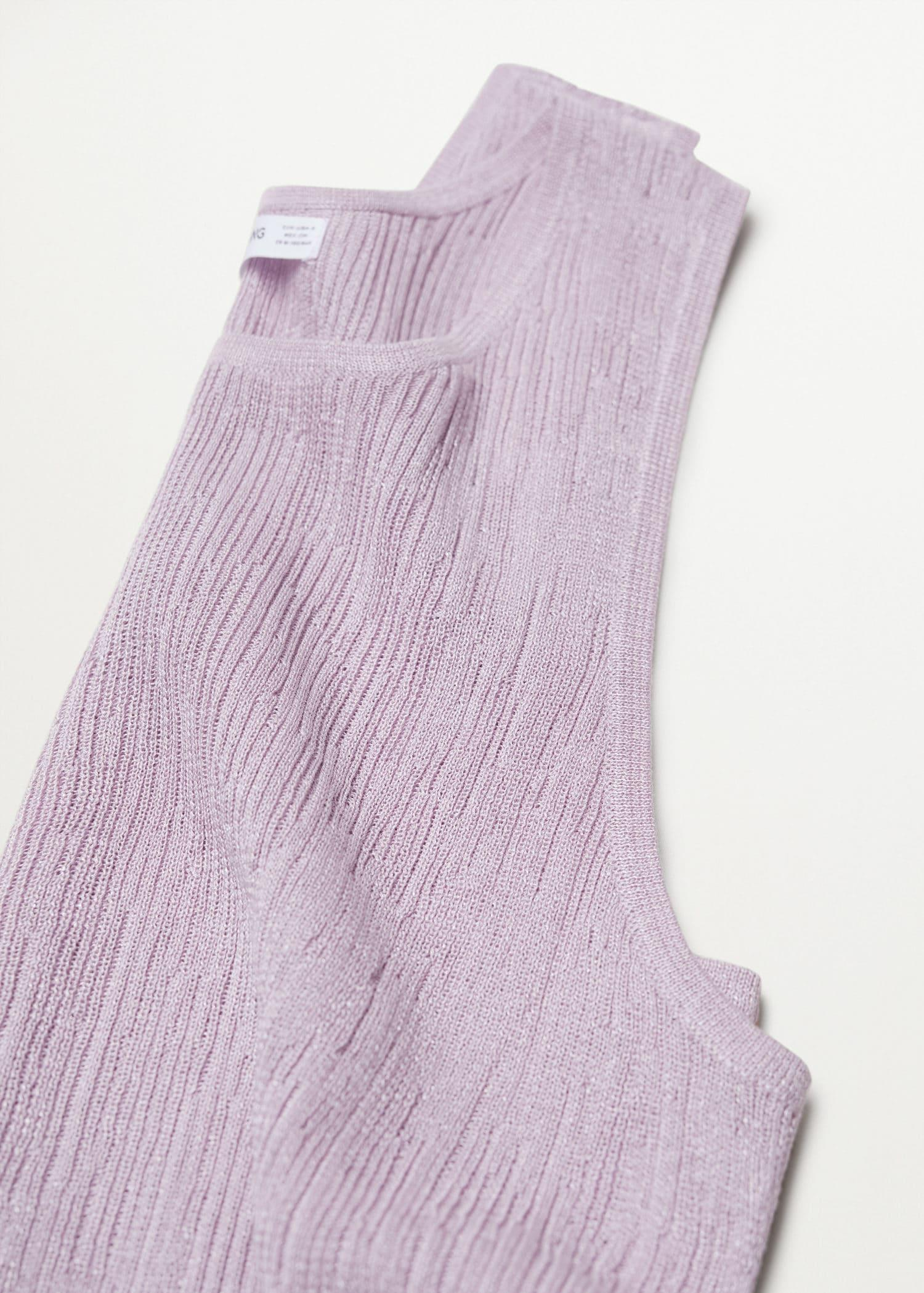 Embossed knit top 5