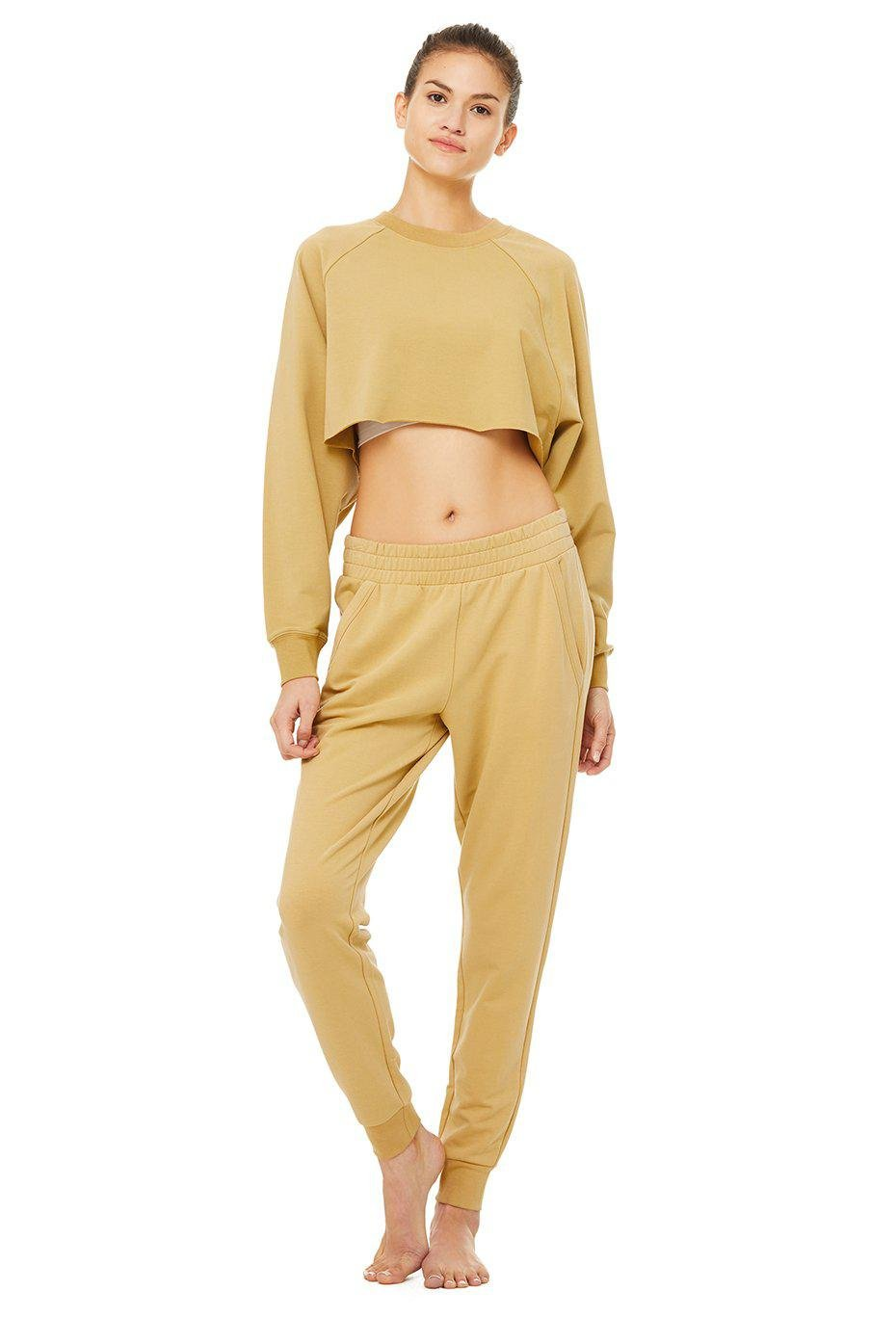 Double Take Pullover - Honey 3