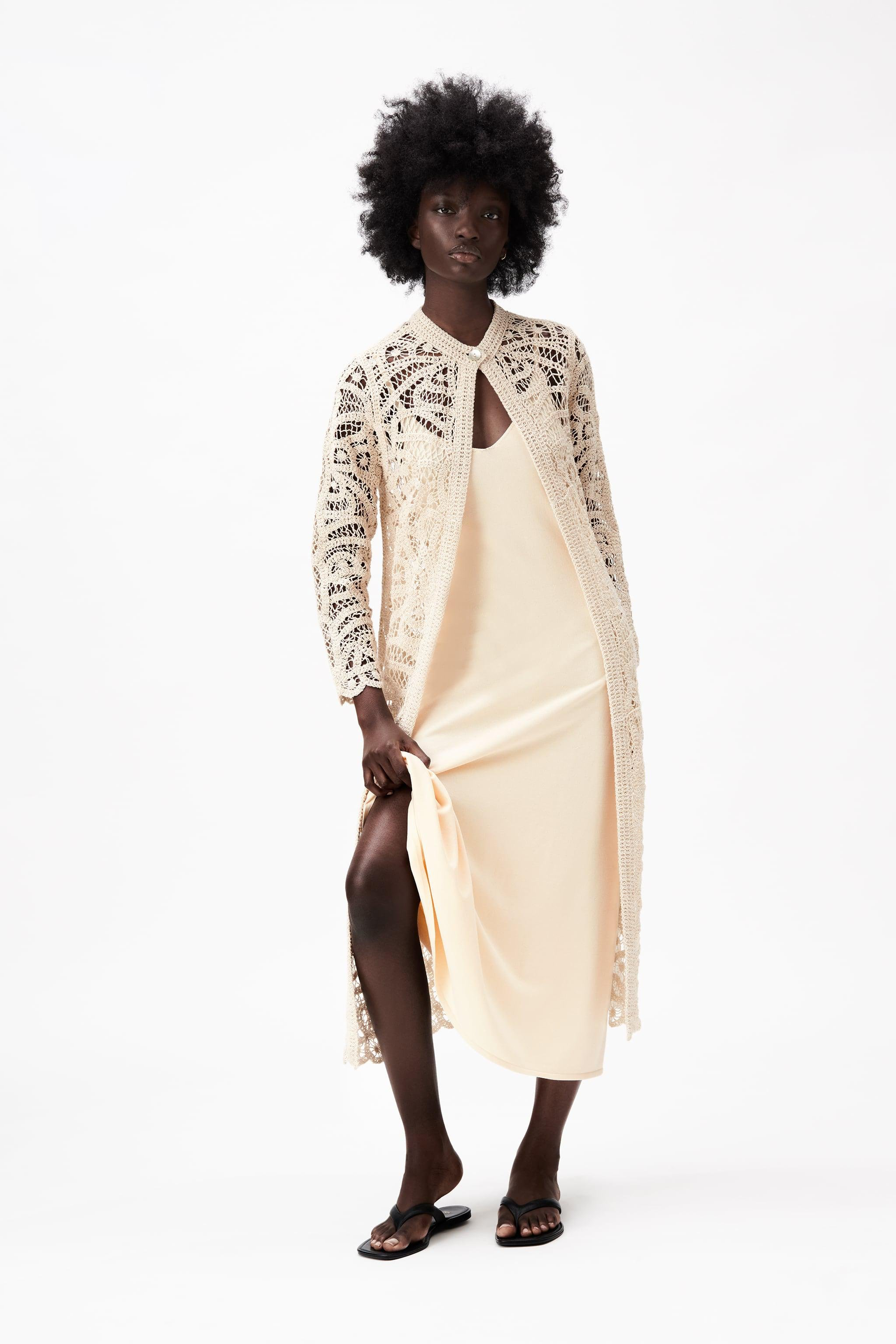 EMBROIDERED GUIPURE LACE COAT LIMITED EDITION