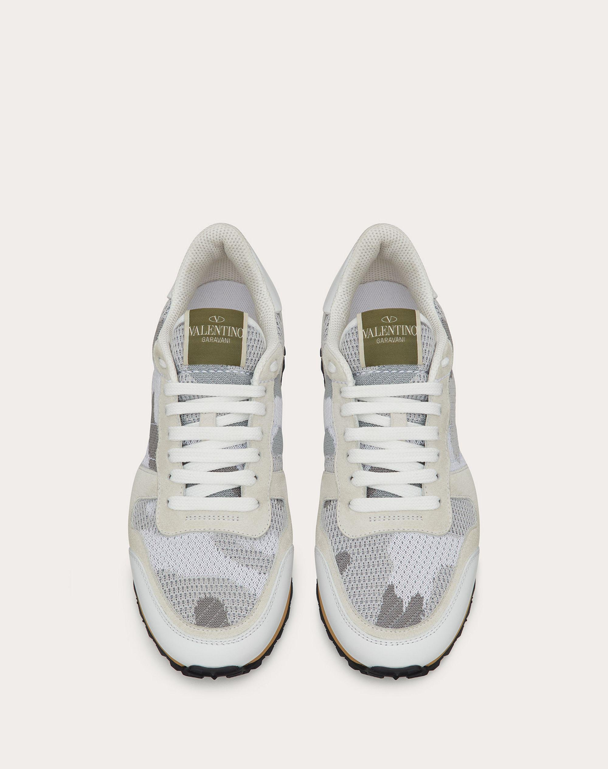 Mesh Fabric Camouflage Sneaker 3