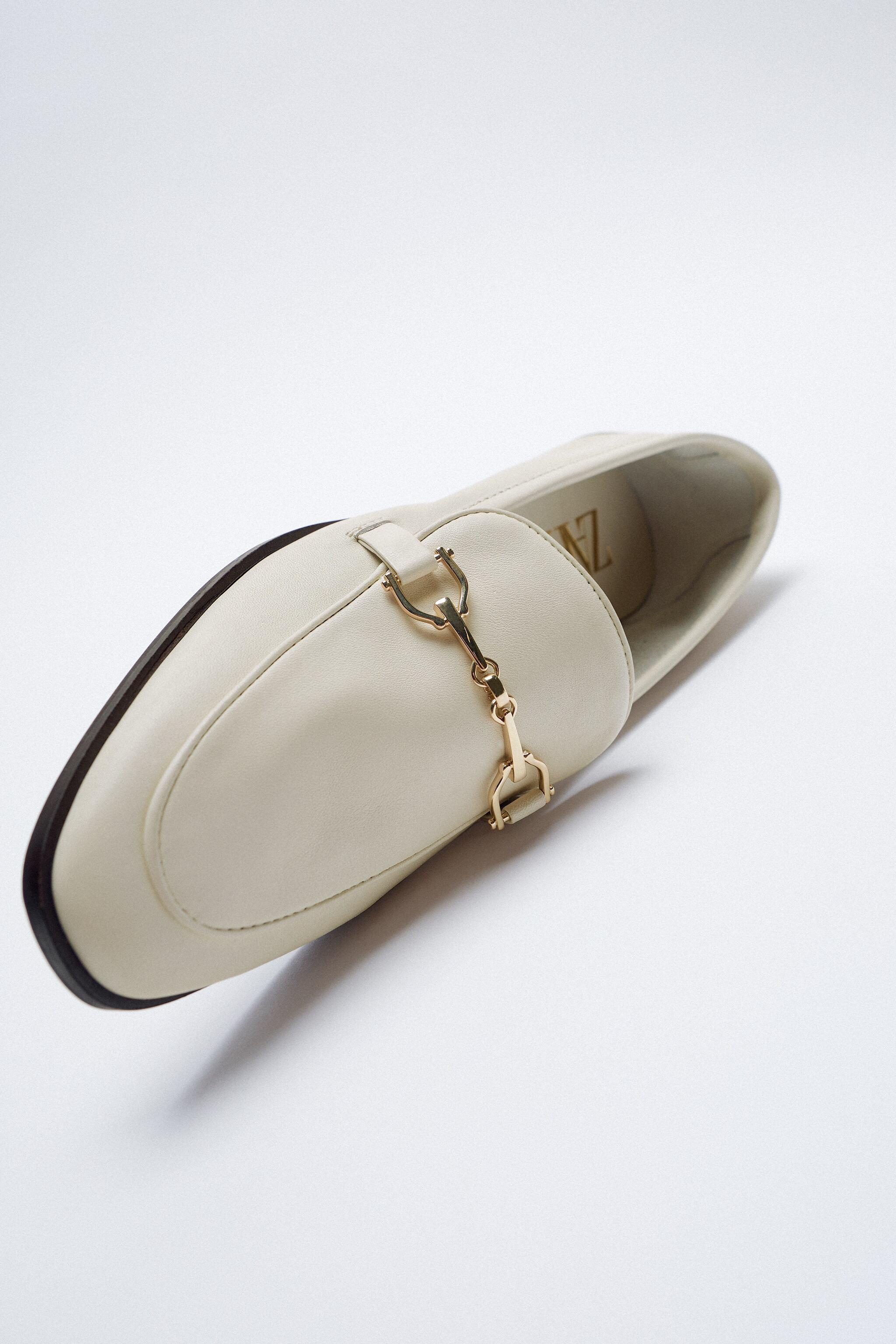 BUCKLED LEATHER LOAFERS 6