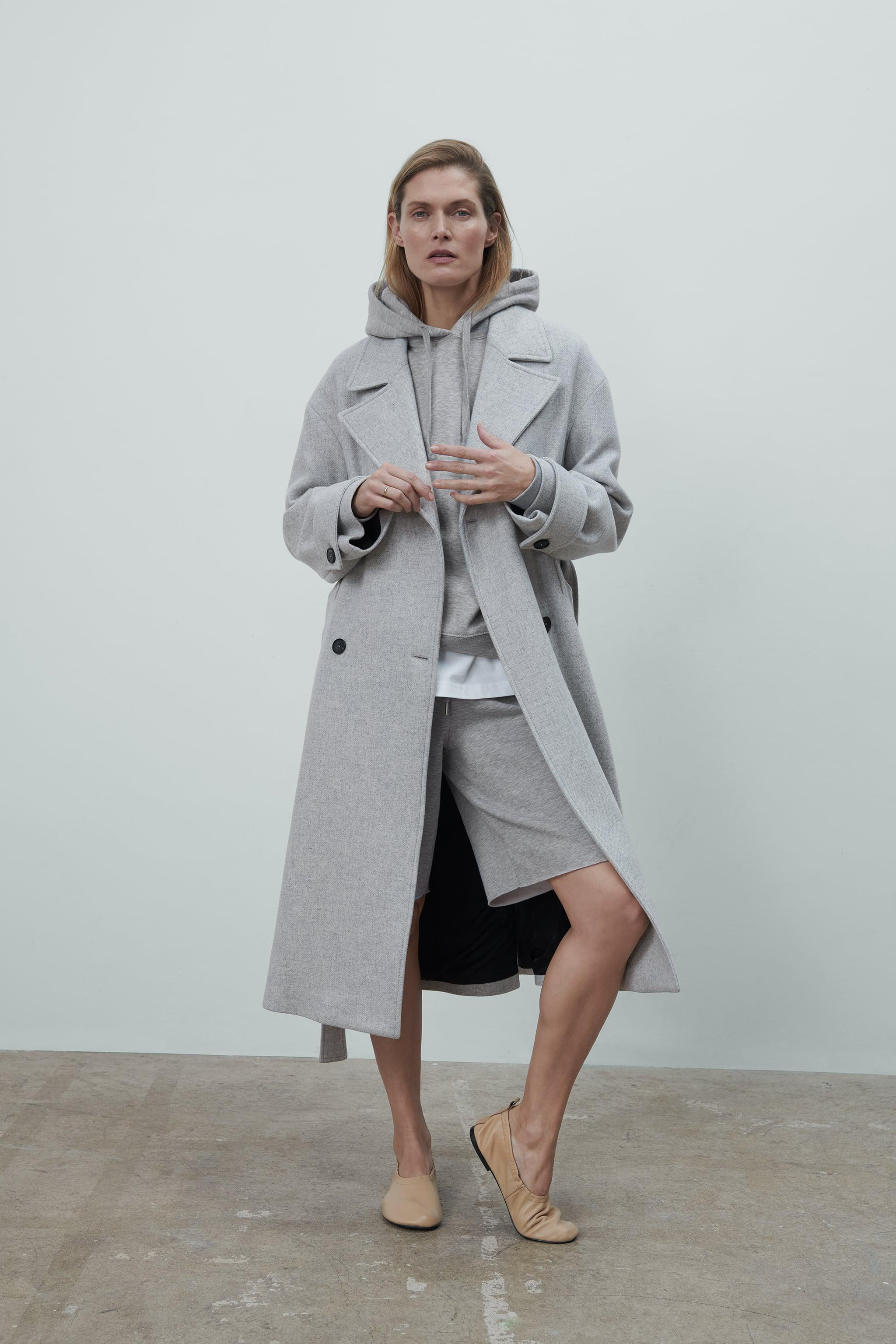 WOOL BLEND COAT LIMITED EDITION