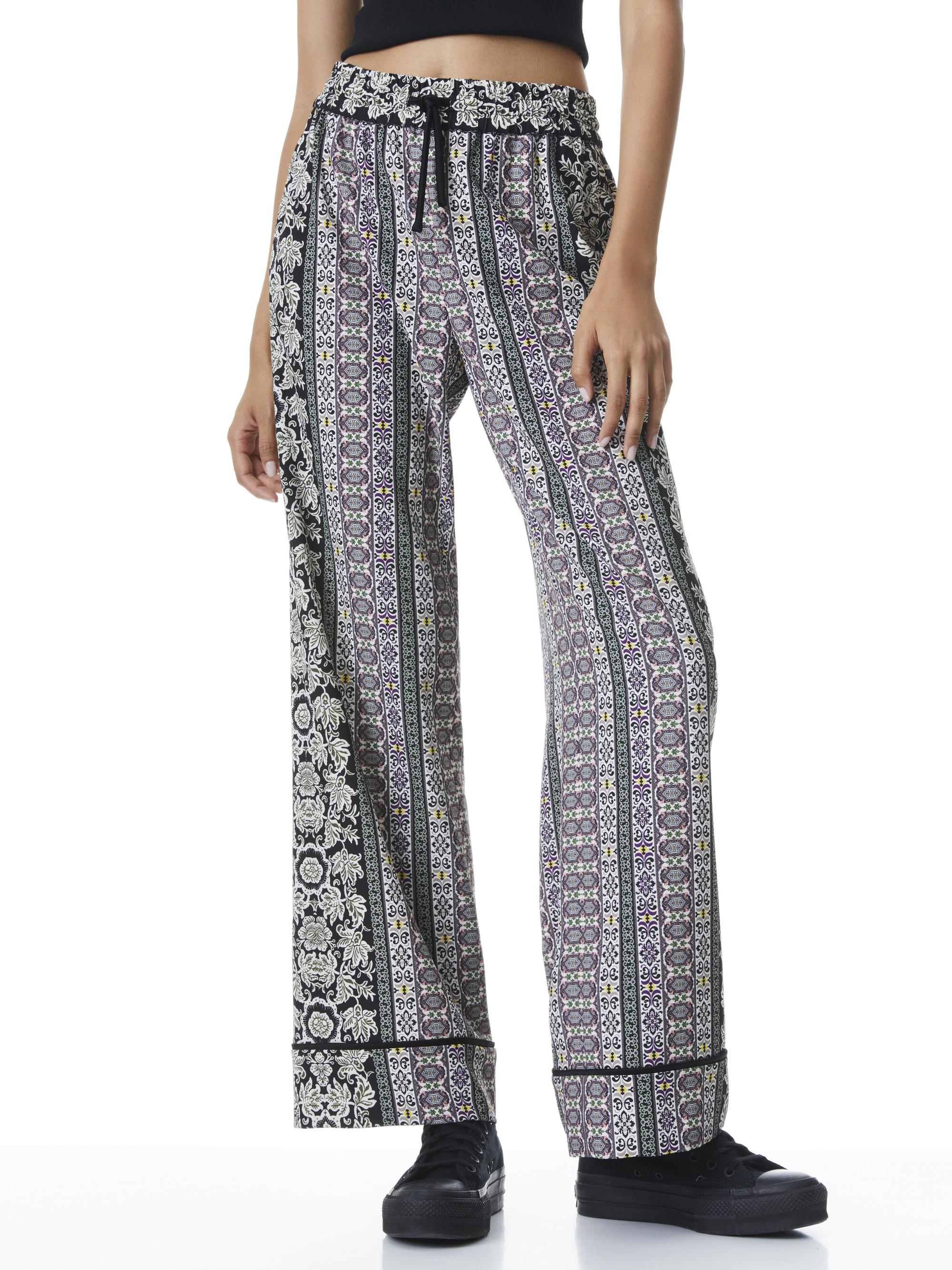 MEERA PIPED SUIT PANT