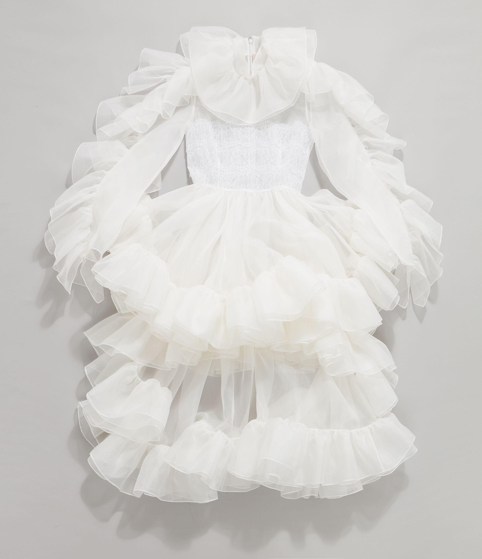Christopher Kane Bridal: The Organza Frill Gown 4