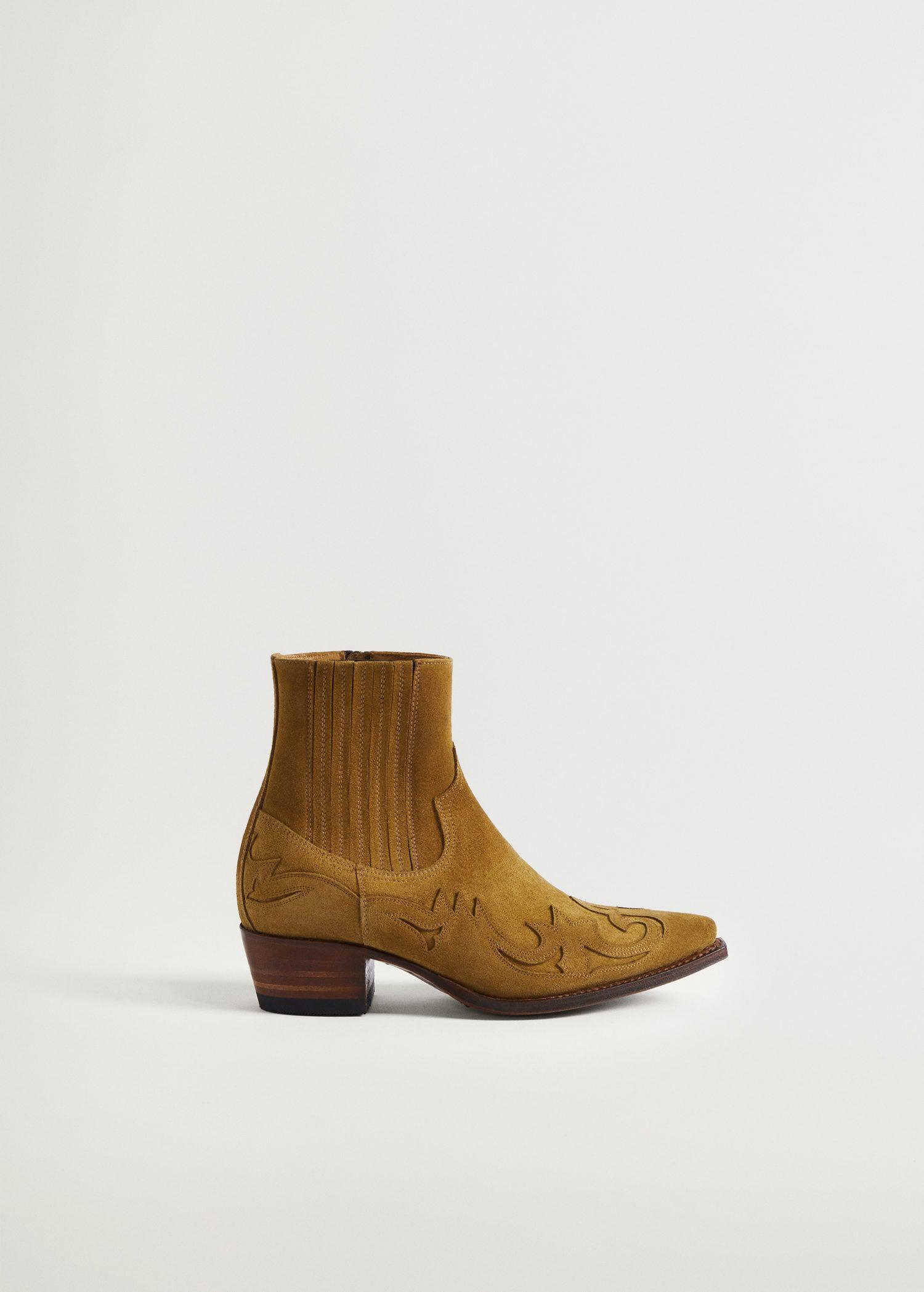 Goodyear welted leather boots