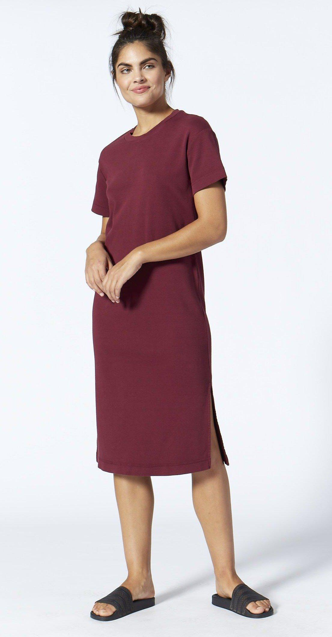 Boundary Structured Tee Dress