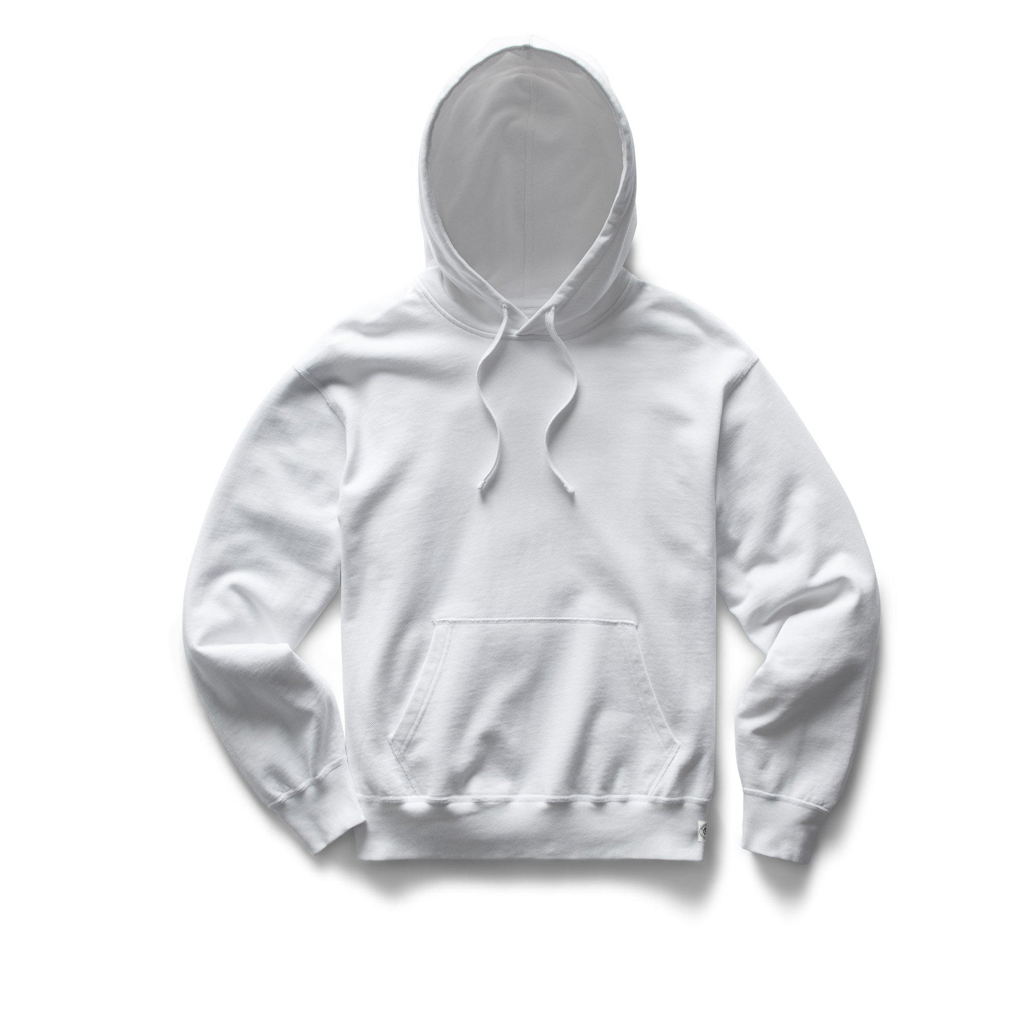 Lightweight Terry Relaxed Hoodie