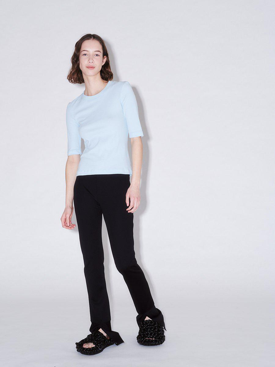 Cropped Sleeve T-Shirt 3