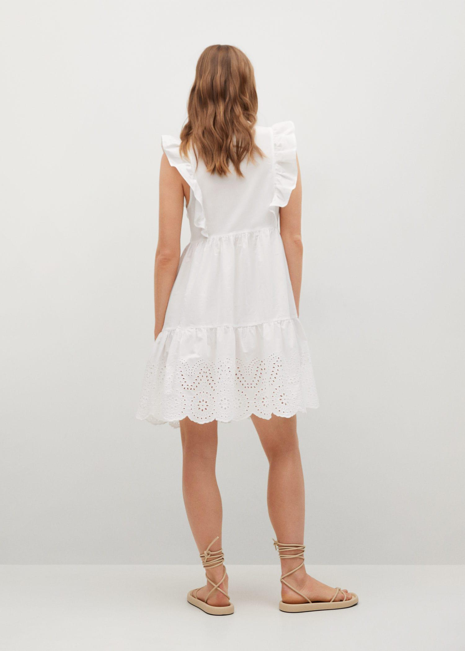 Broderie anglaise cotton dress 2