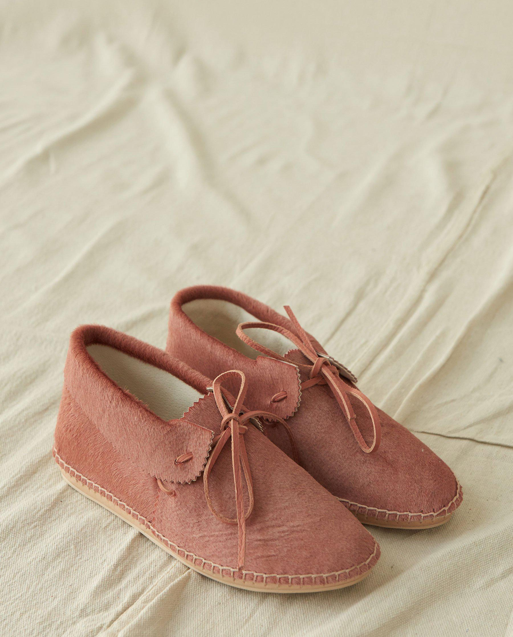 The Canyon Moccasin. -- Dusty Rose