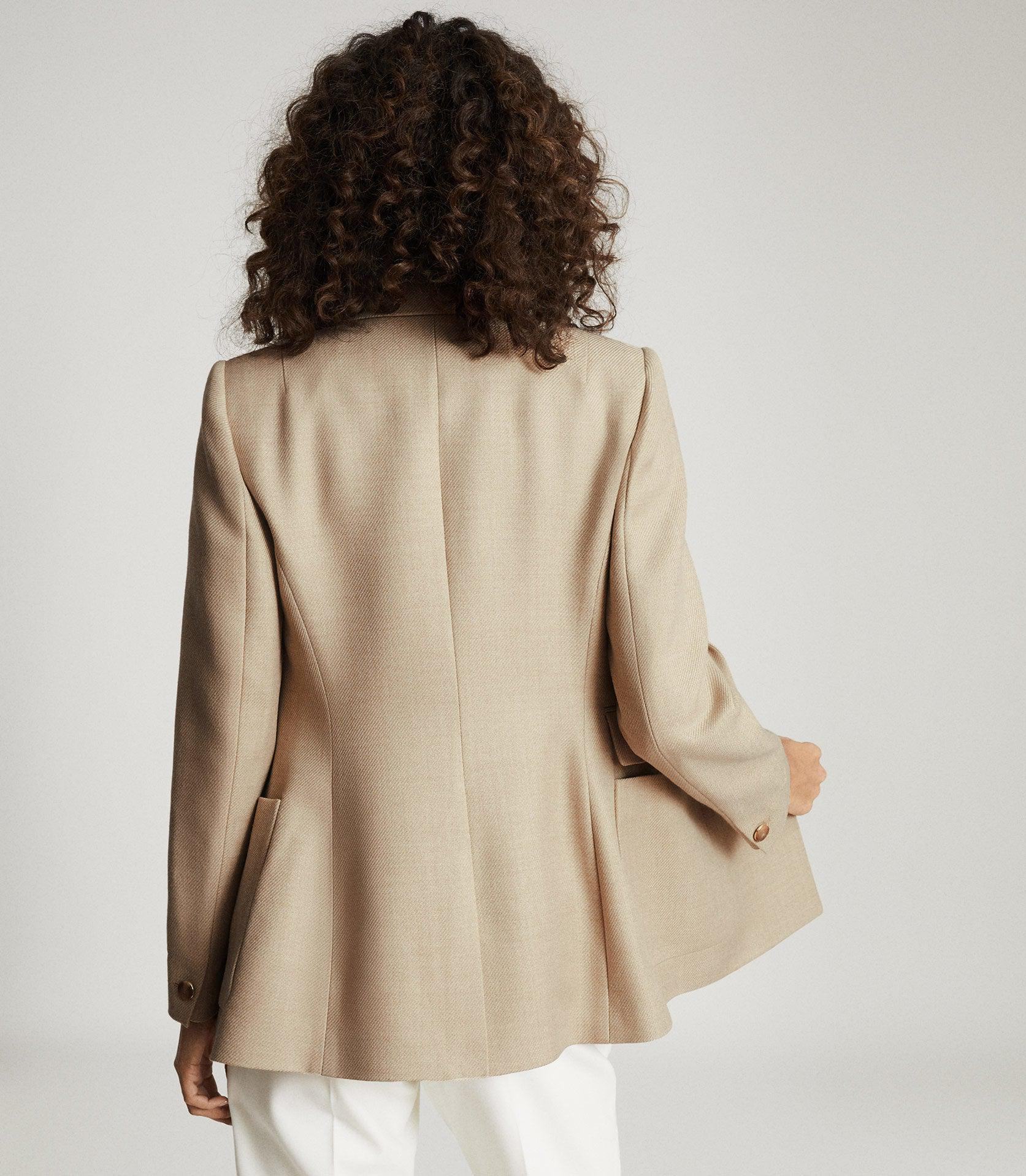 LARSSON - DOUBLE BREASTED TWILL BLAZER 2