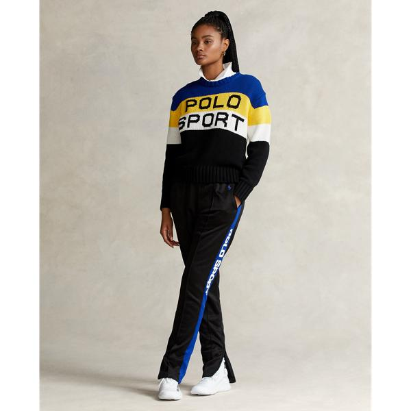 Color-Blocked Polo Sport Sweater
