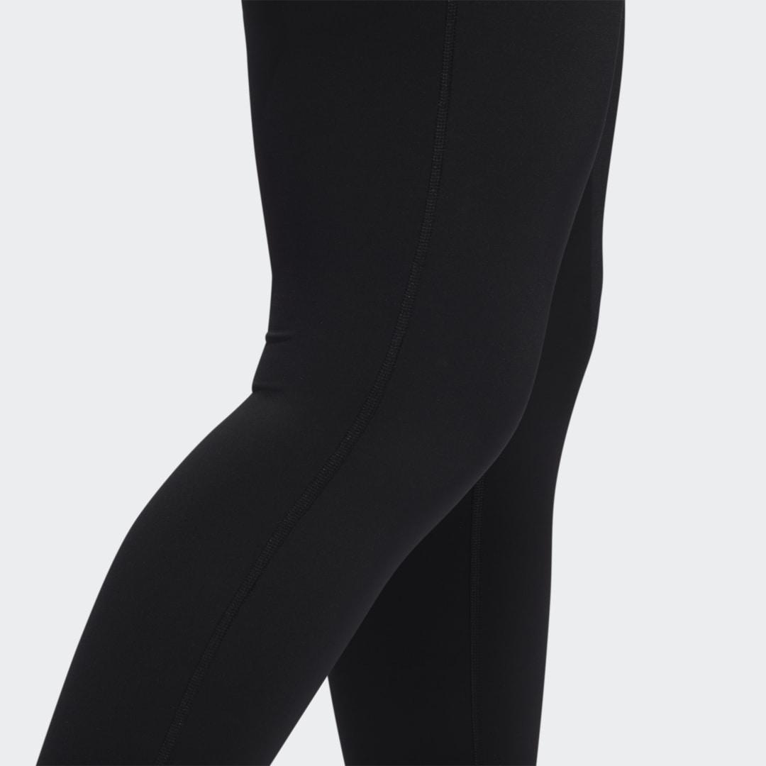 Believe This Solid 7/8 Tights (Plus Size) Black 8