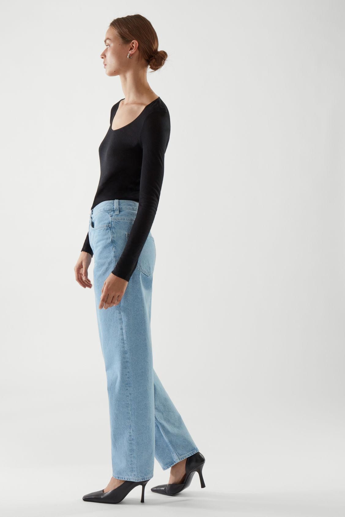 STRAIGHT MID-RISE JEANS 3