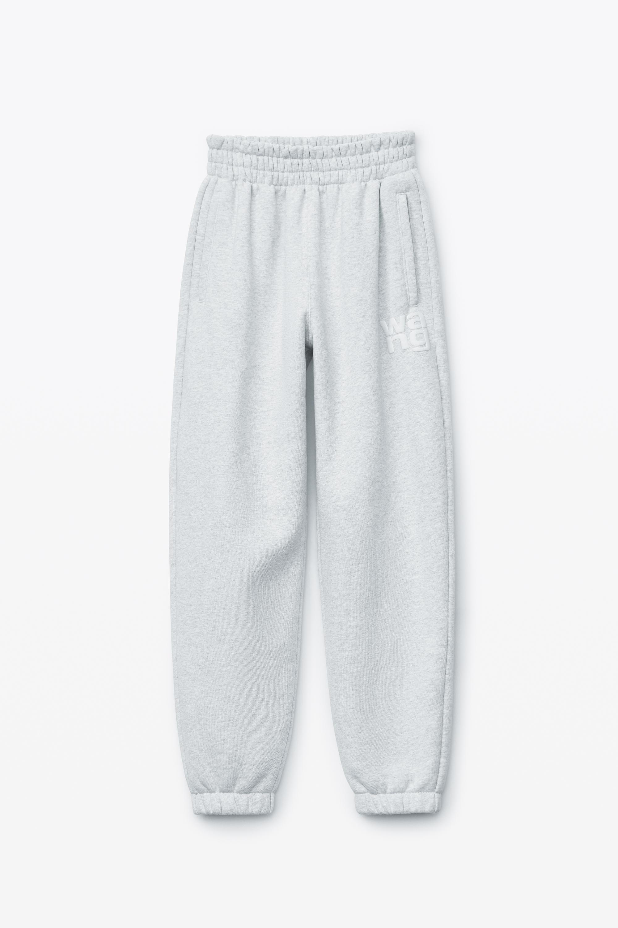 puff paint logo sweatpant in terry 1