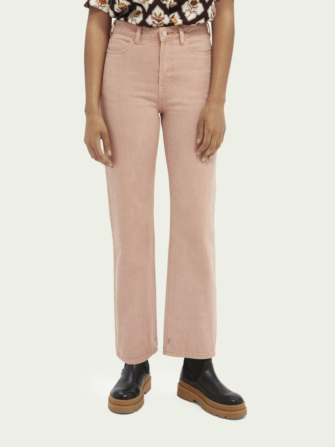 Tailored cotton jeans — Pastel Dyes 0