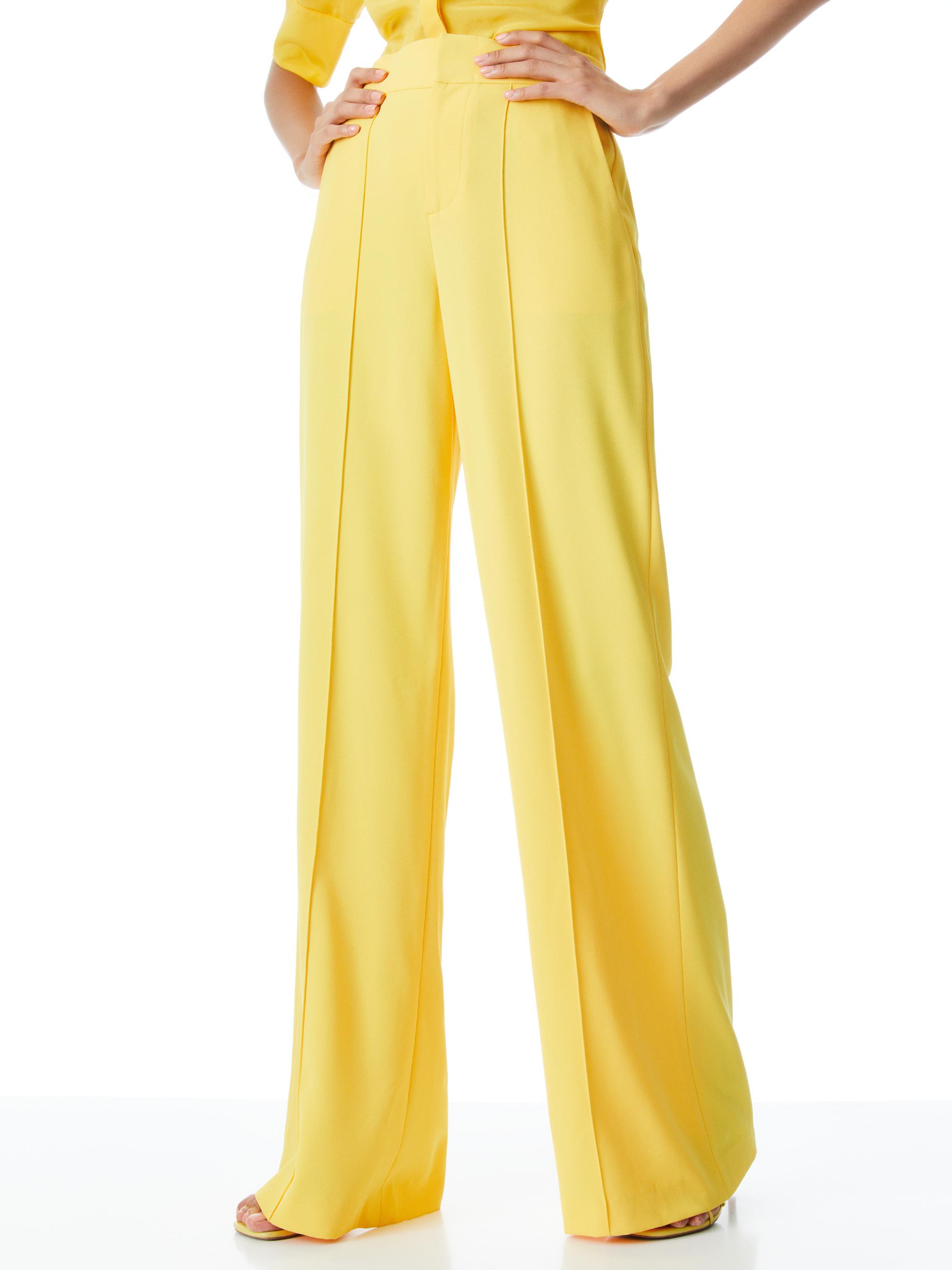 DYLAN HIGH WAISTED WIDE LEG PANT