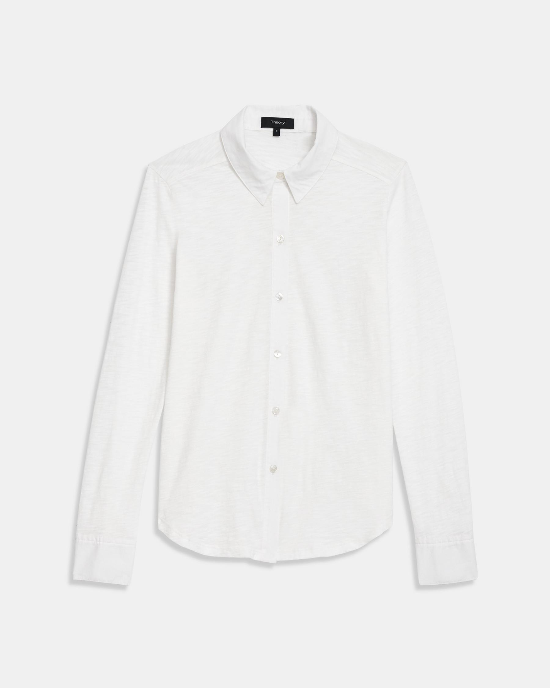 Button Up Shirt in Organic Cotton 6